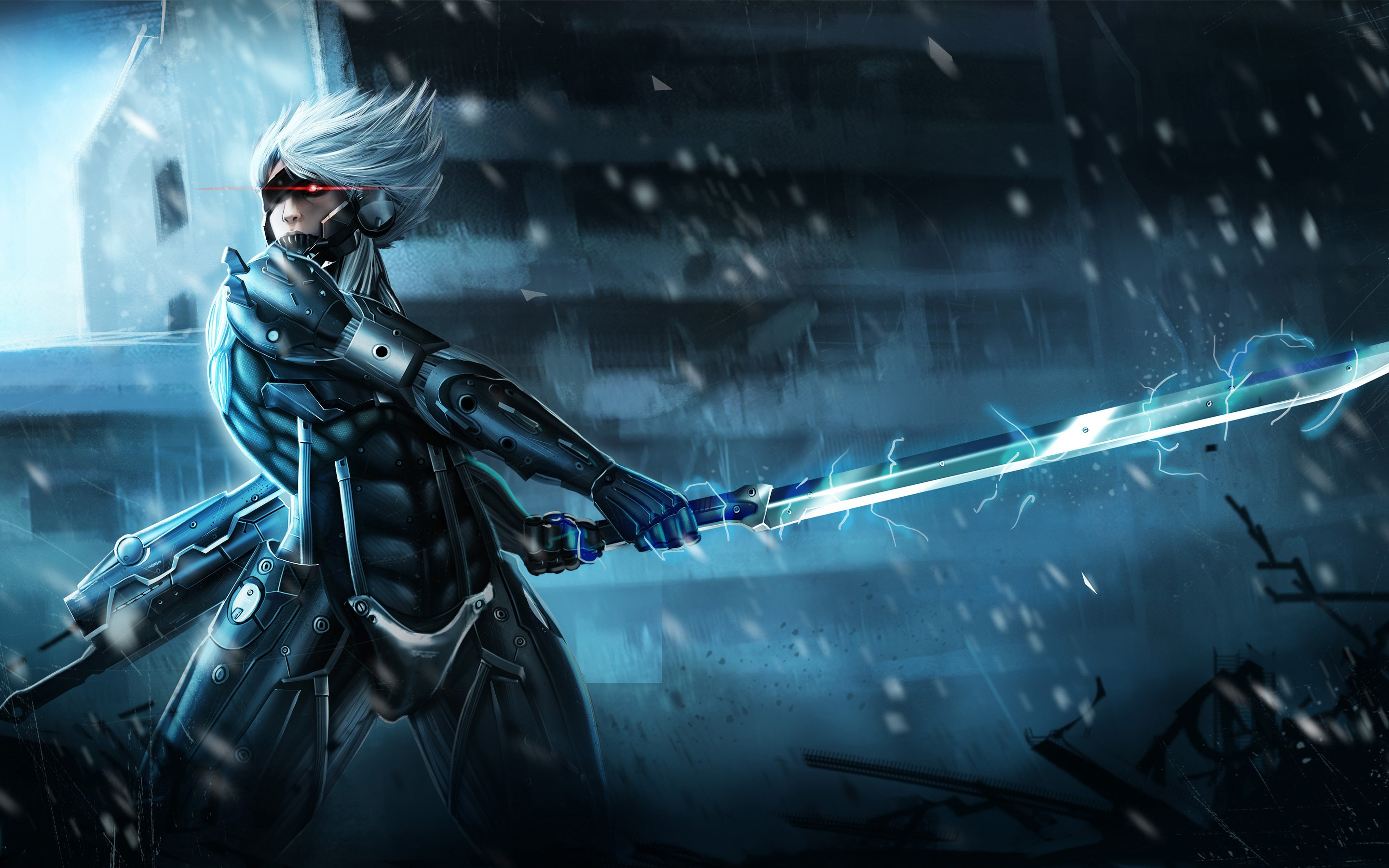 Metal gear rising raiden hd games 4k wallpapers images metal gear rising raiden voltagebd