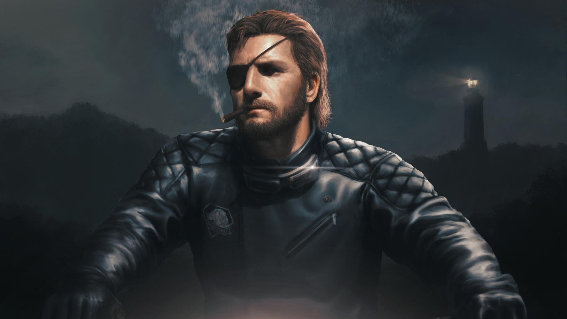 Metal Gear Solid V The Phantom Pain Fan Art Hd Games 4k