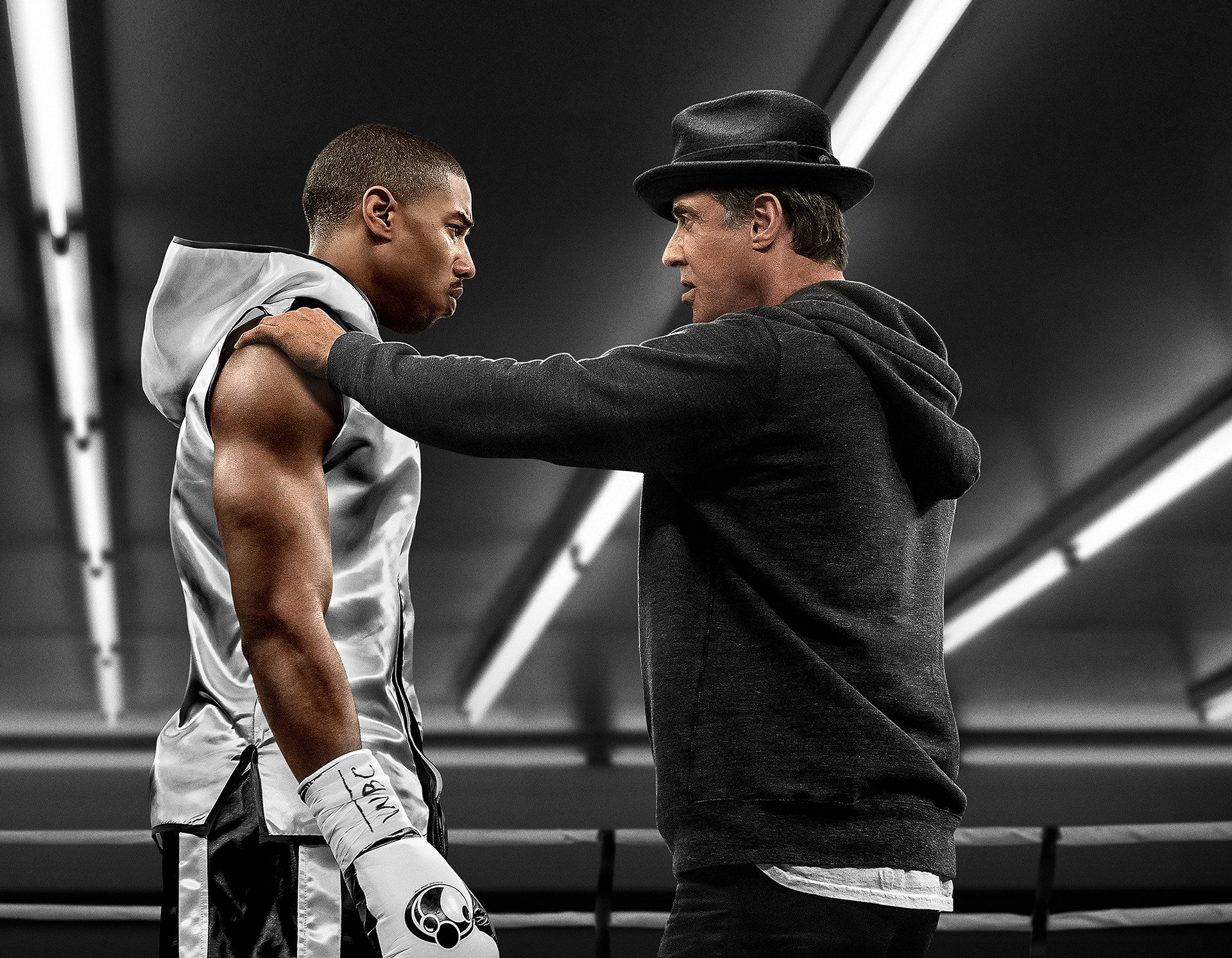 Michael B Jordan And Sylvester Stallone In Creed Movie Hd