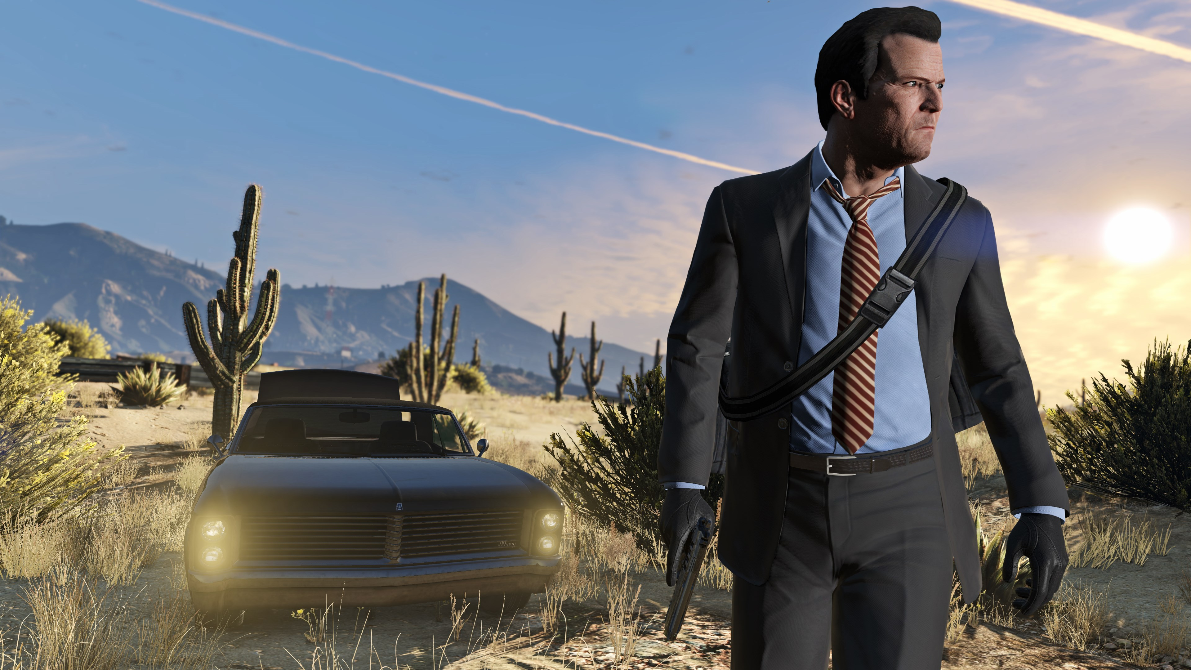 Michael In GTA V, HD Games, 4k Wallpapers, Images ...