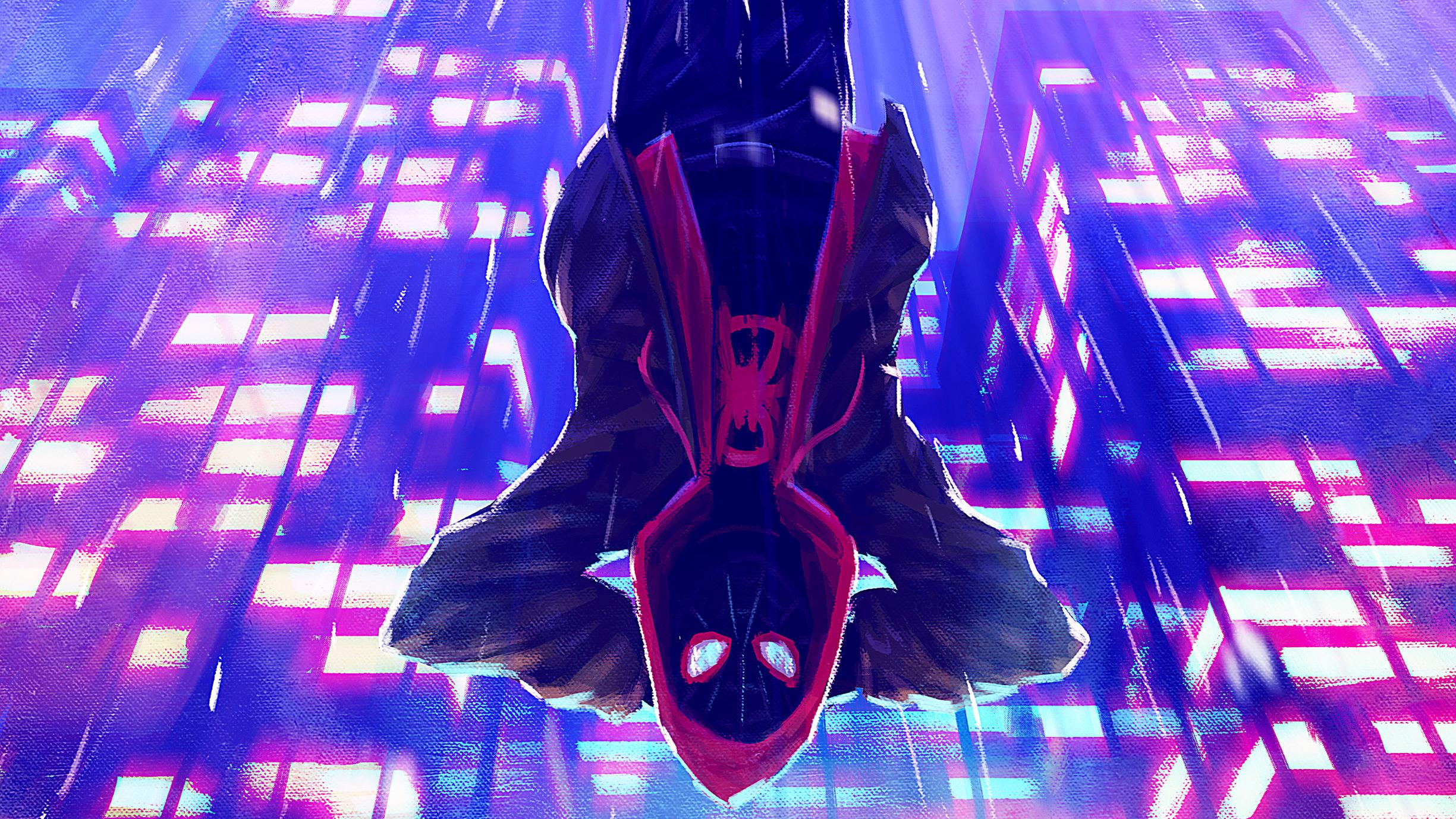 Miles Morales Spiderverse Arts, HD Superheroes, 4k ...