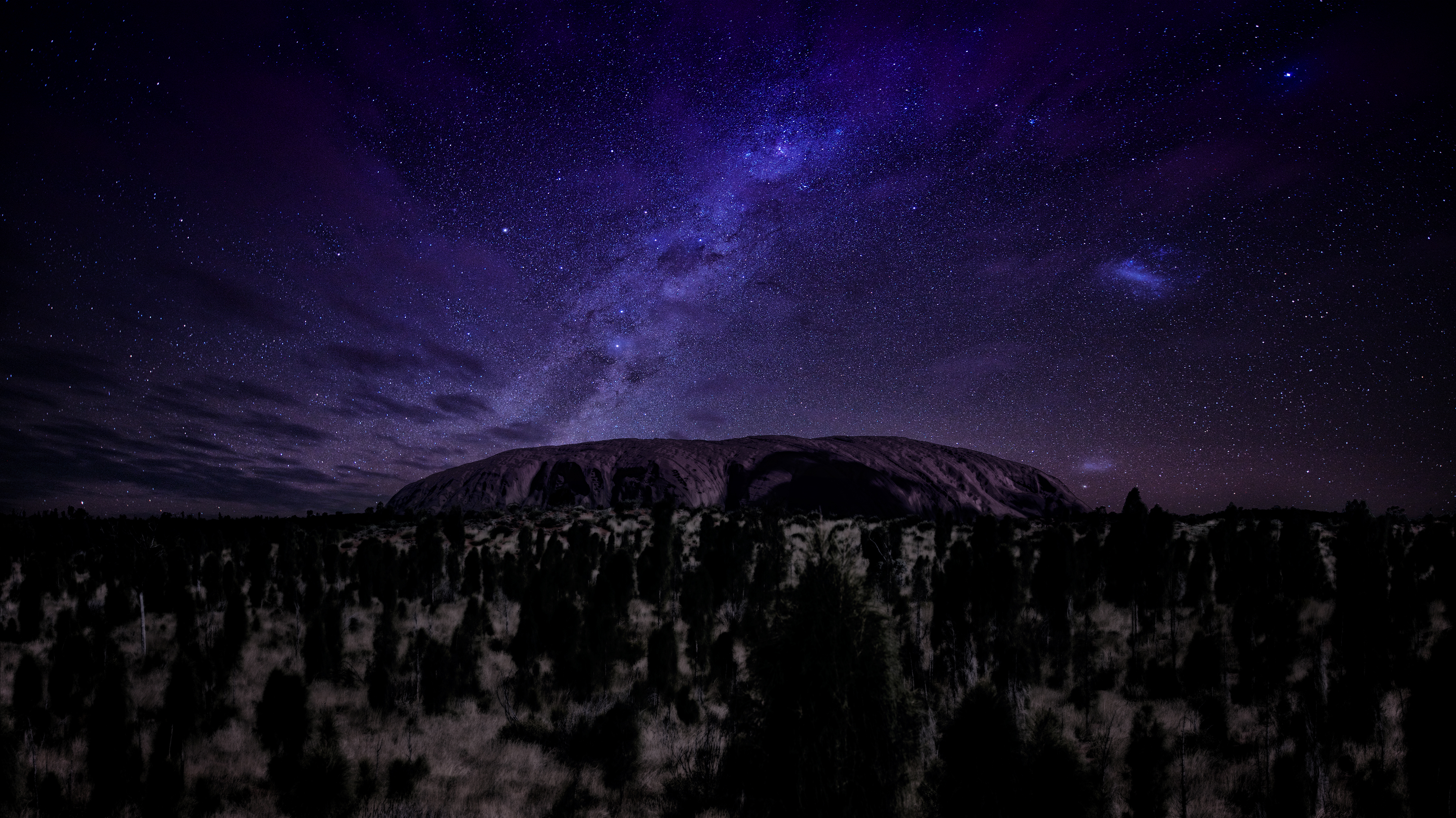 Milky Way Dark Night 4k, HD Nature, 4k Wallpapers, Images ...