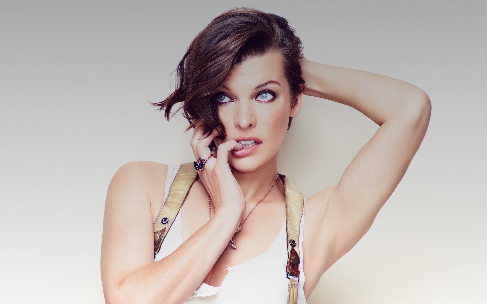Milla jovovich 2016 hd celebrities 4k wallpapers images - Milla jovovich 4k wallpaper ...