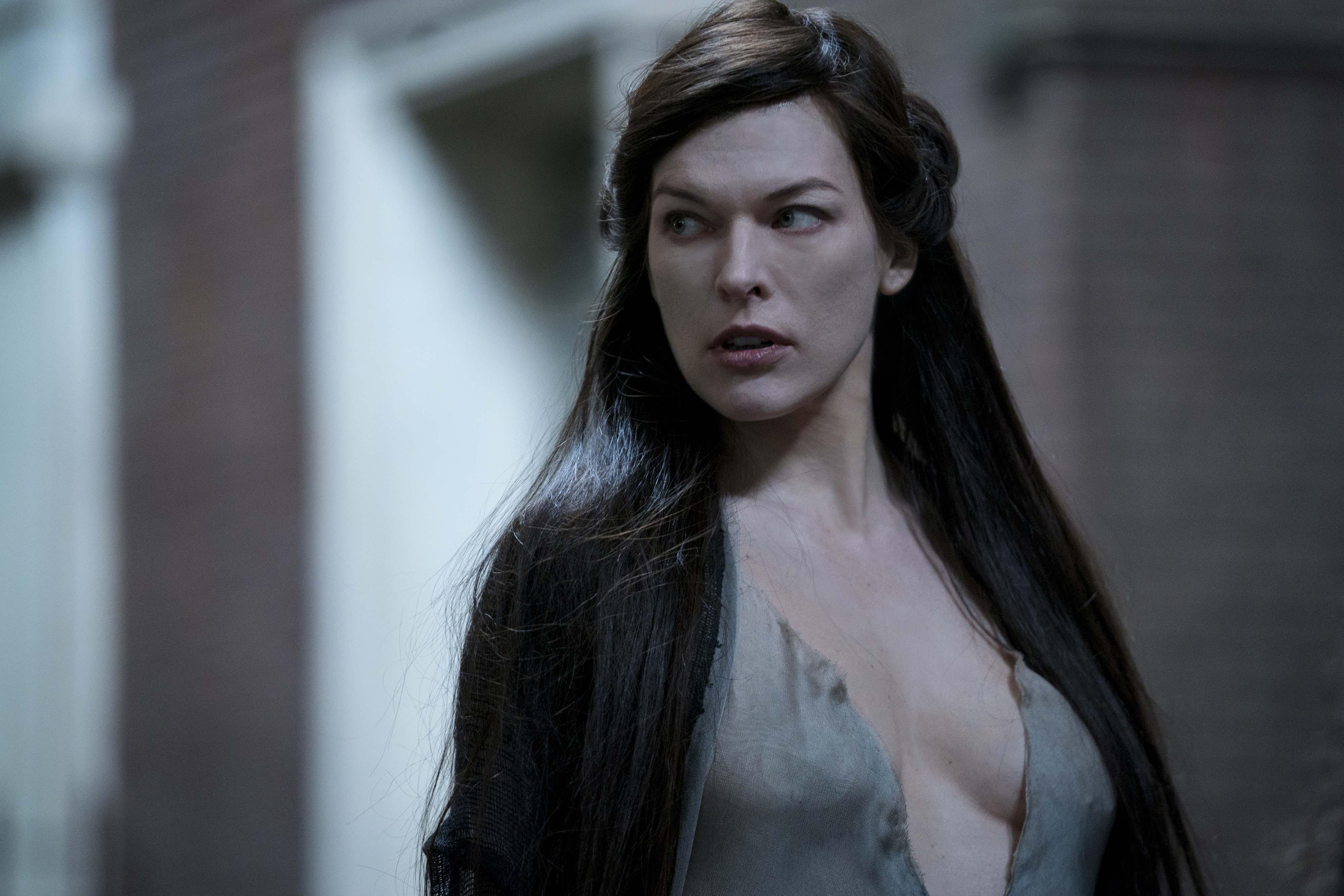 Milla jovovich blood queen in hellboy 2019 hd movies 4k - Milla jovovich 4k wallpaper ...