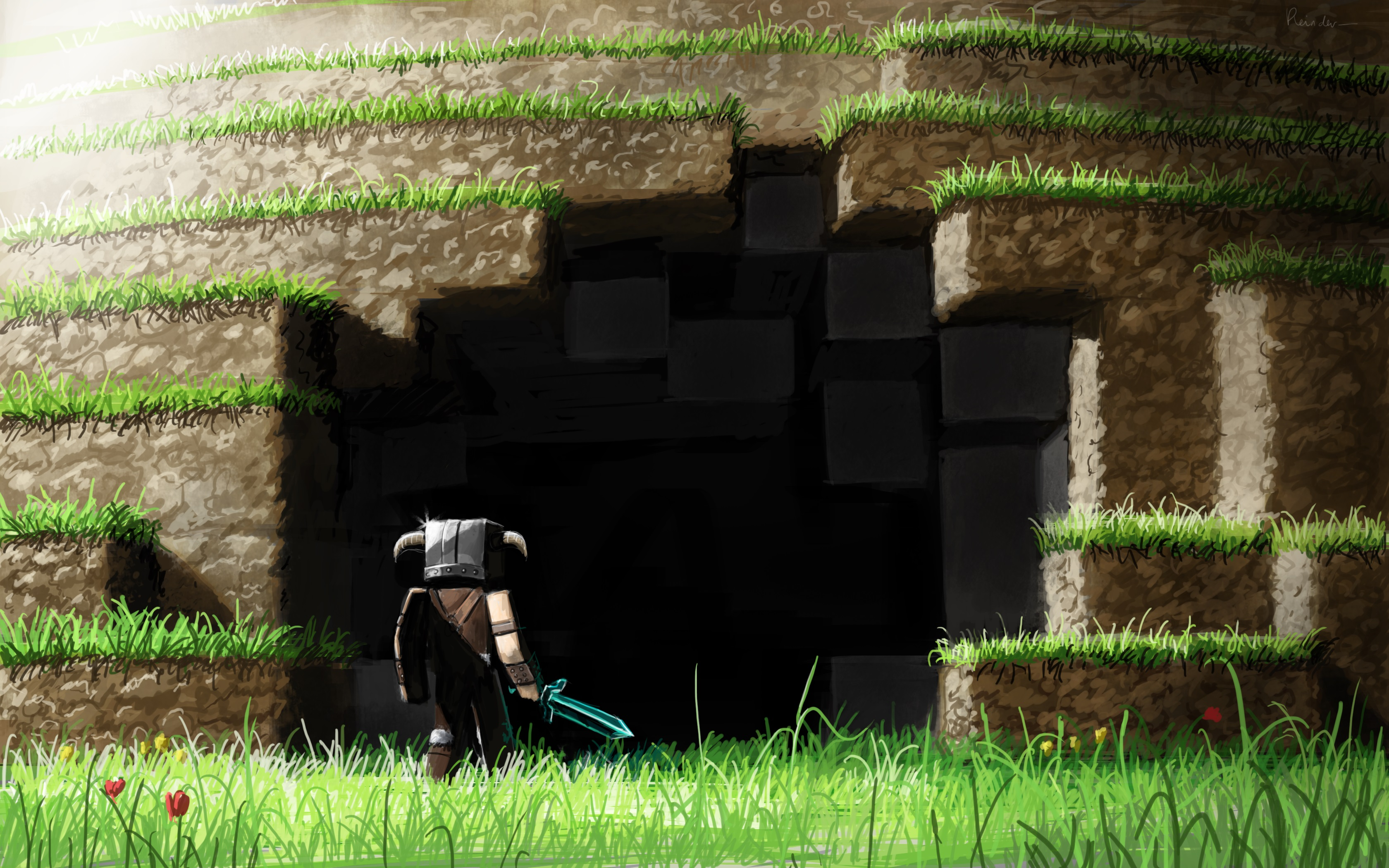 Minecraft 4k hd games 4k wallpapers images backgrounds for Sfondi 4k per pc