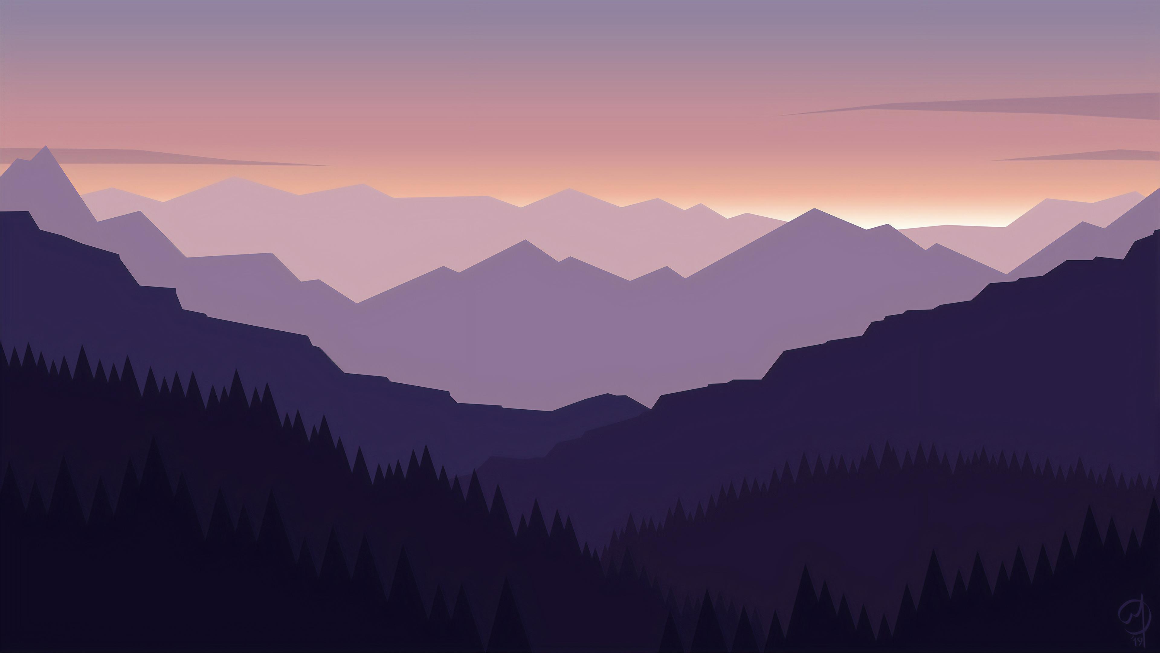 Minimal Landscape 4k Hd Artist 4k Wallpapers Images