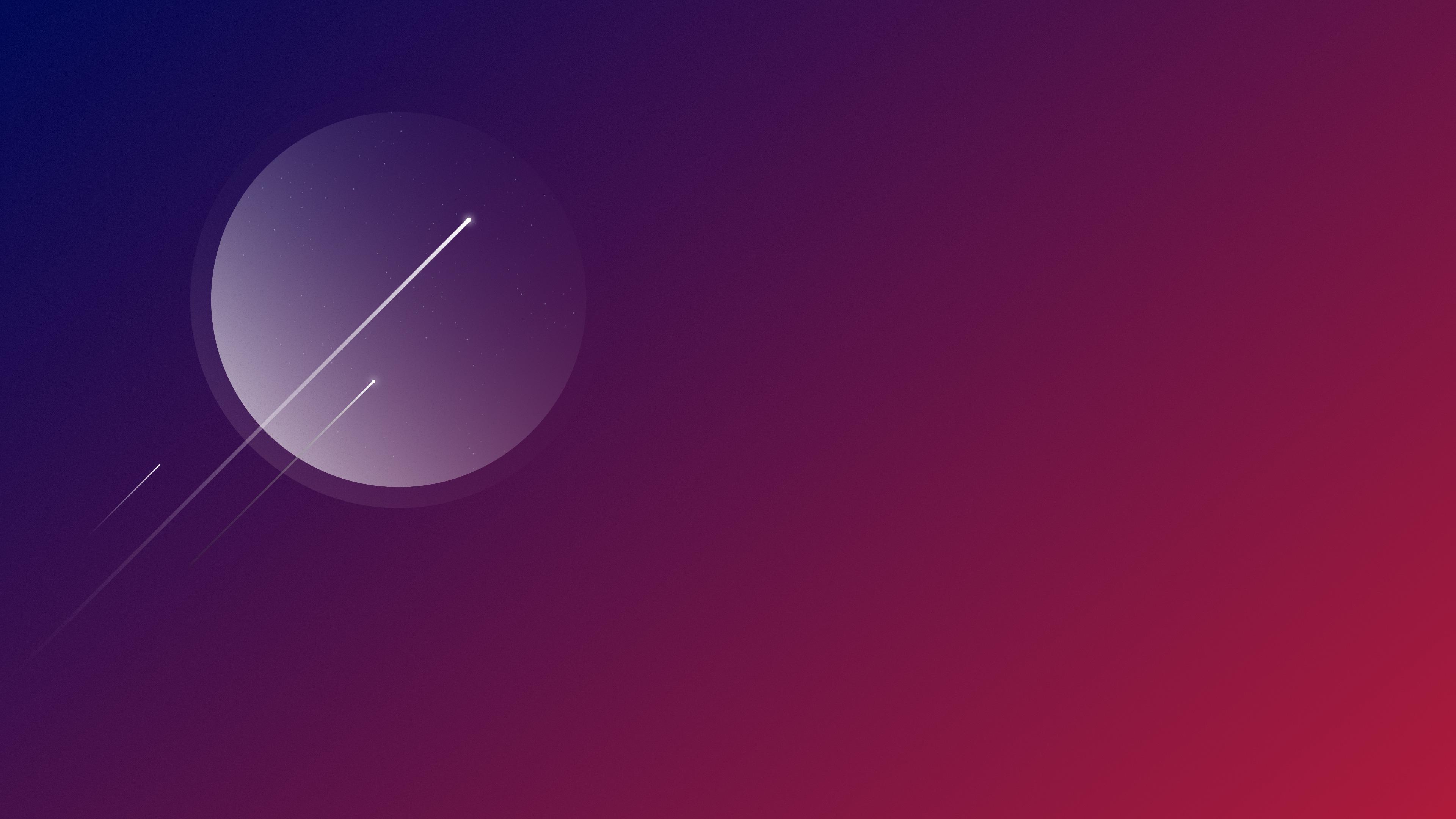 Minimalism Shooting Stars 4k Hd Artist 4k Wallpapers
