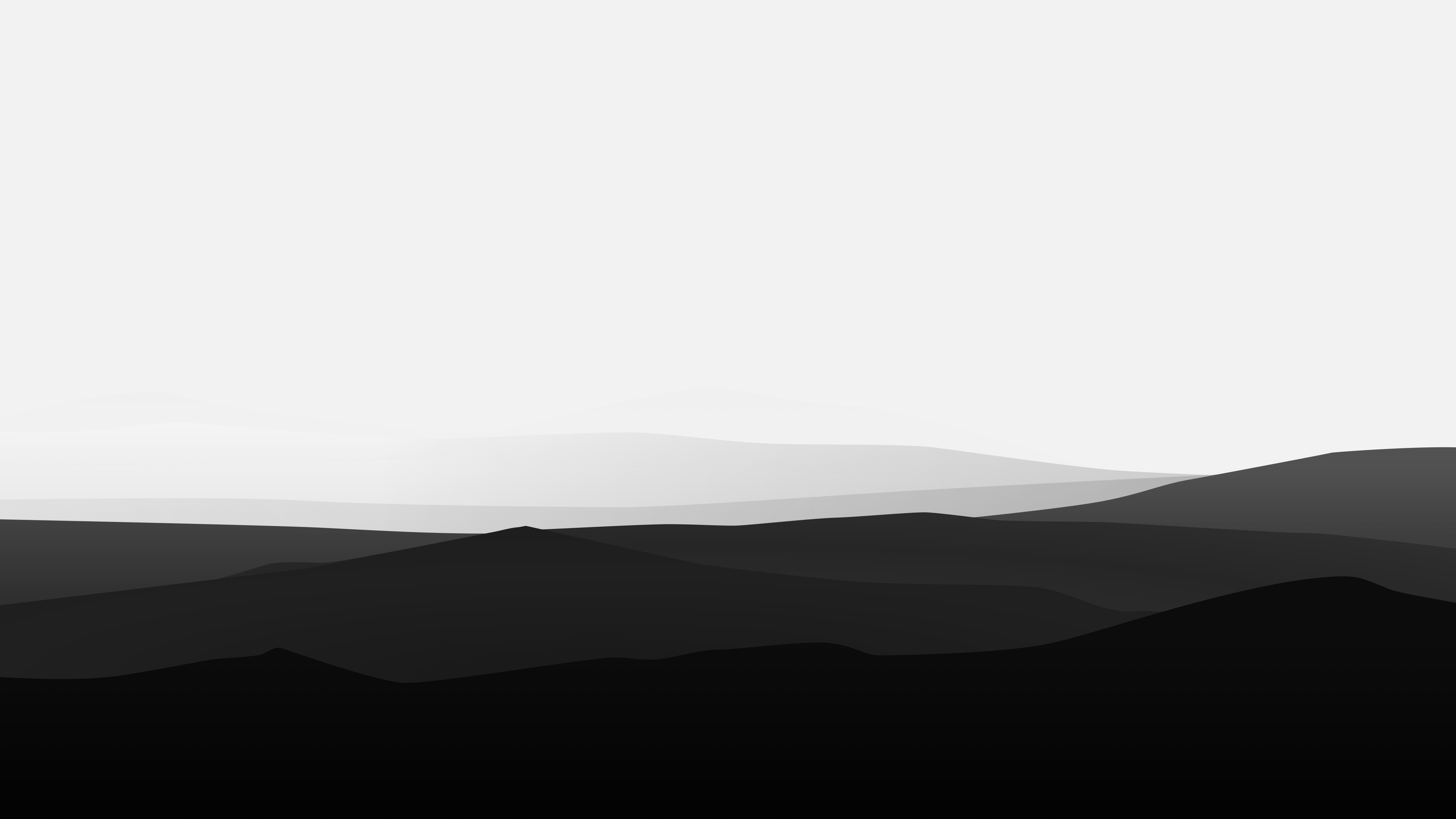 1280x1024 minimalist mountains black and white 1280x1024 resolution
