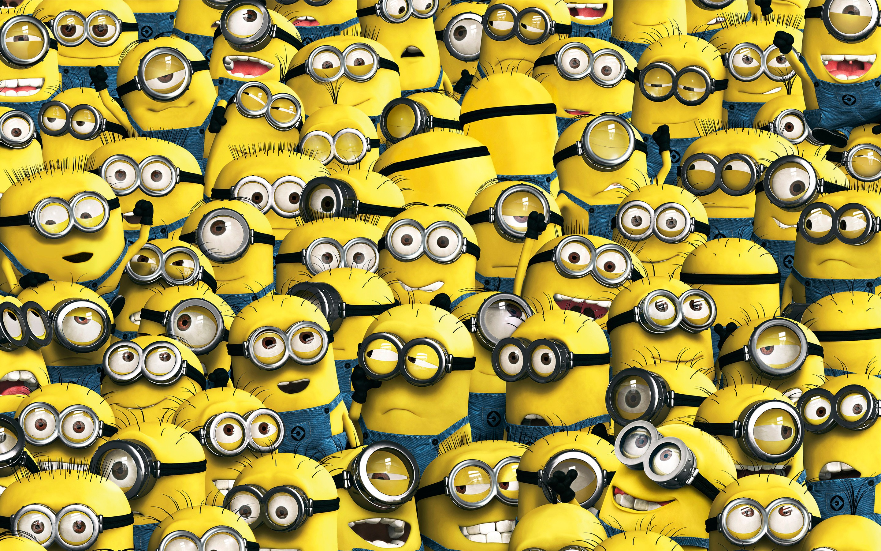 2048x2048 minions 6 ipad air hd 4k wallpapers, images, backgrounds