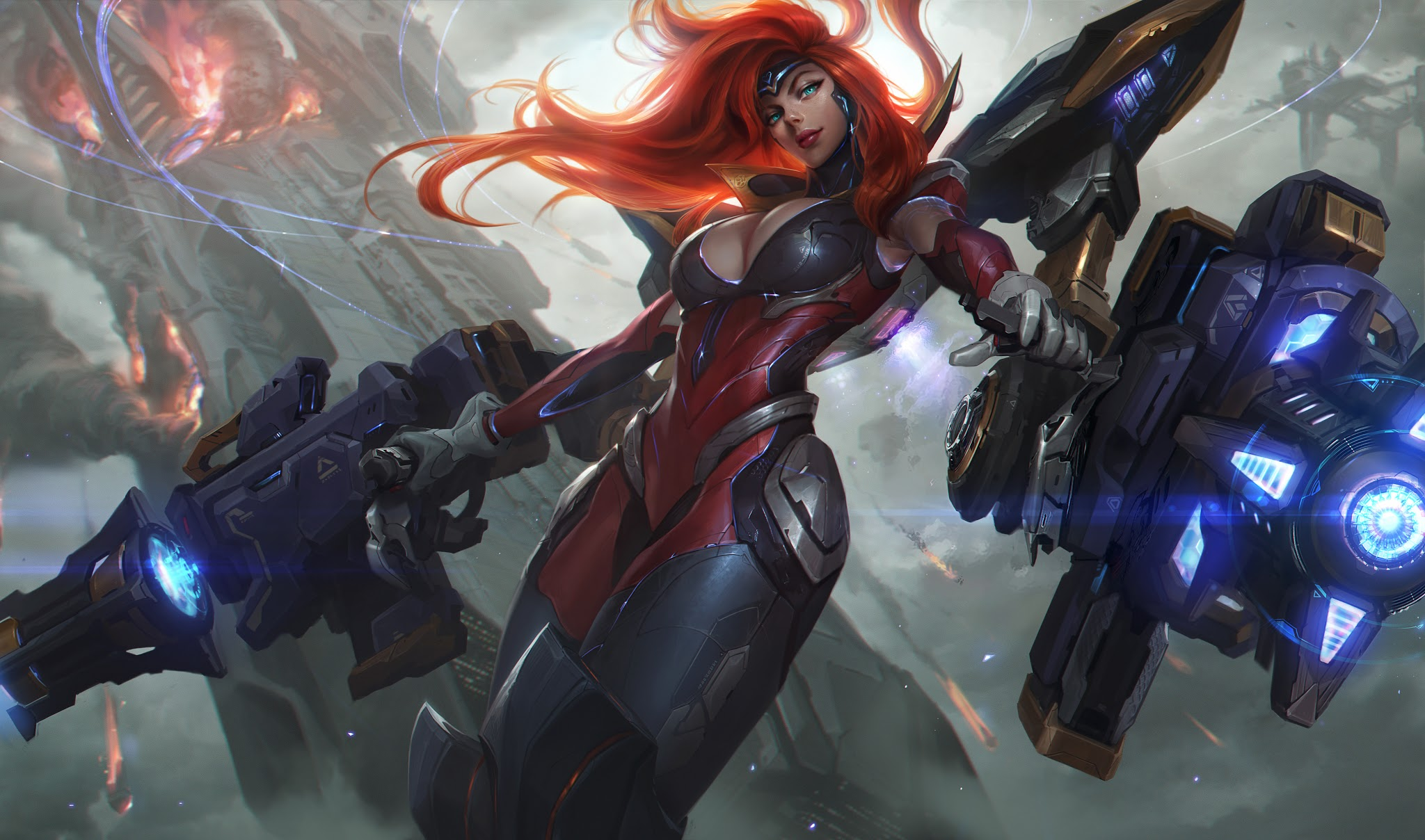 League Of Legends Miss Fortune Wallpaper: 3840x2160 Miss Fortune League Of Legends HD 4k HD 4k