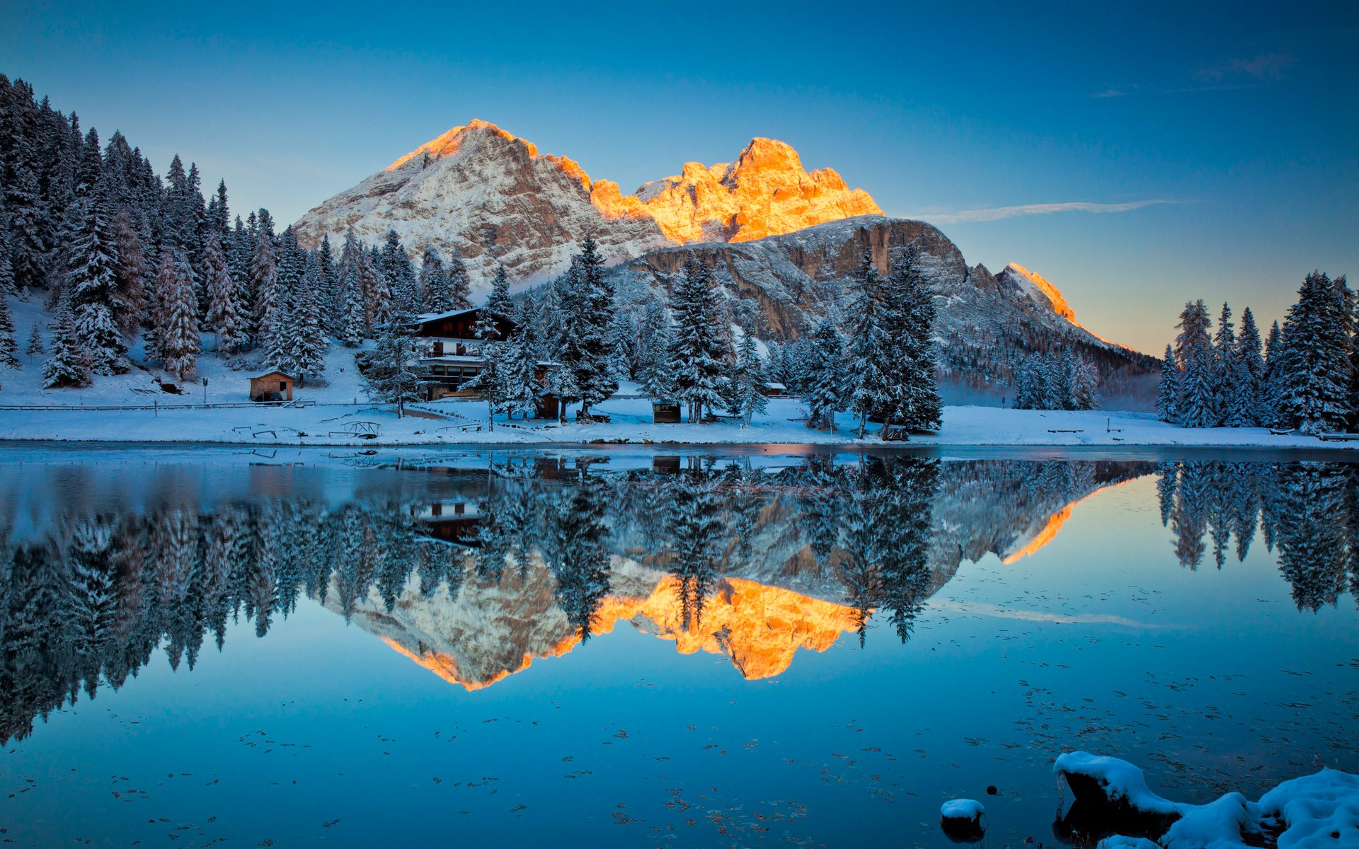Misurina Lake Reflections, HD Nature, 4k Wallpapers ...