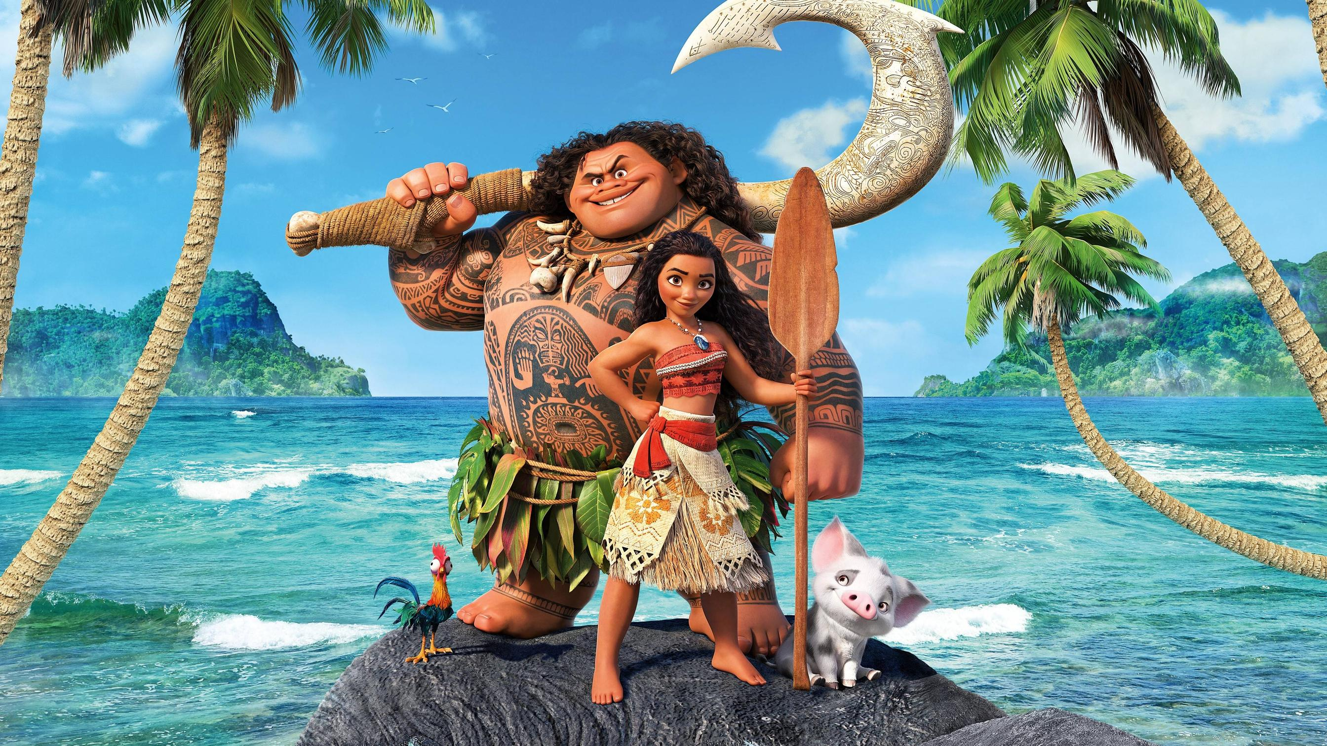 Moana 2016 Disney Movie 4k Hd Movies 4k Wallpapers Images