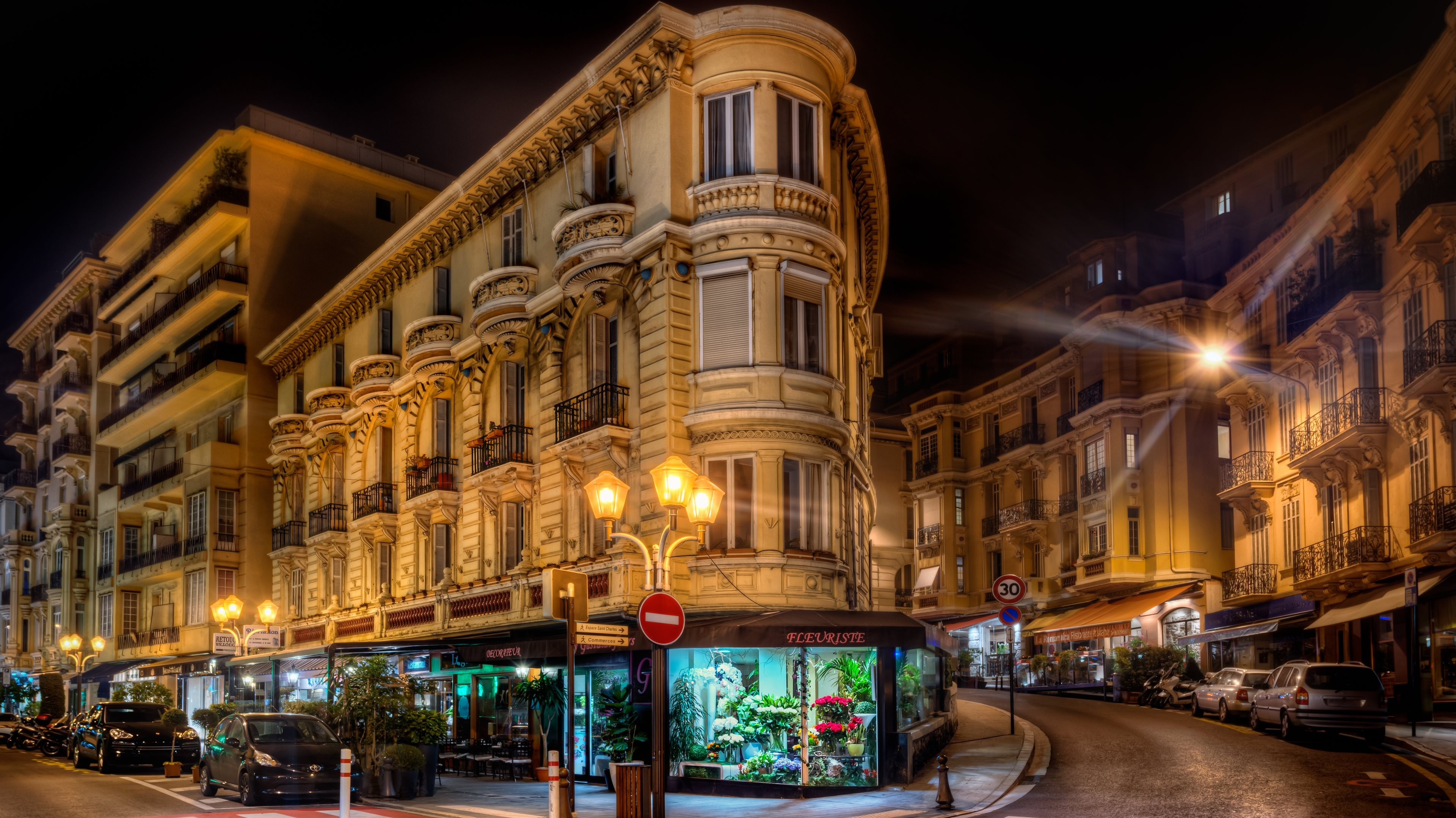 Monaco City France HD World 4k Wallpapers Images Backgrounds