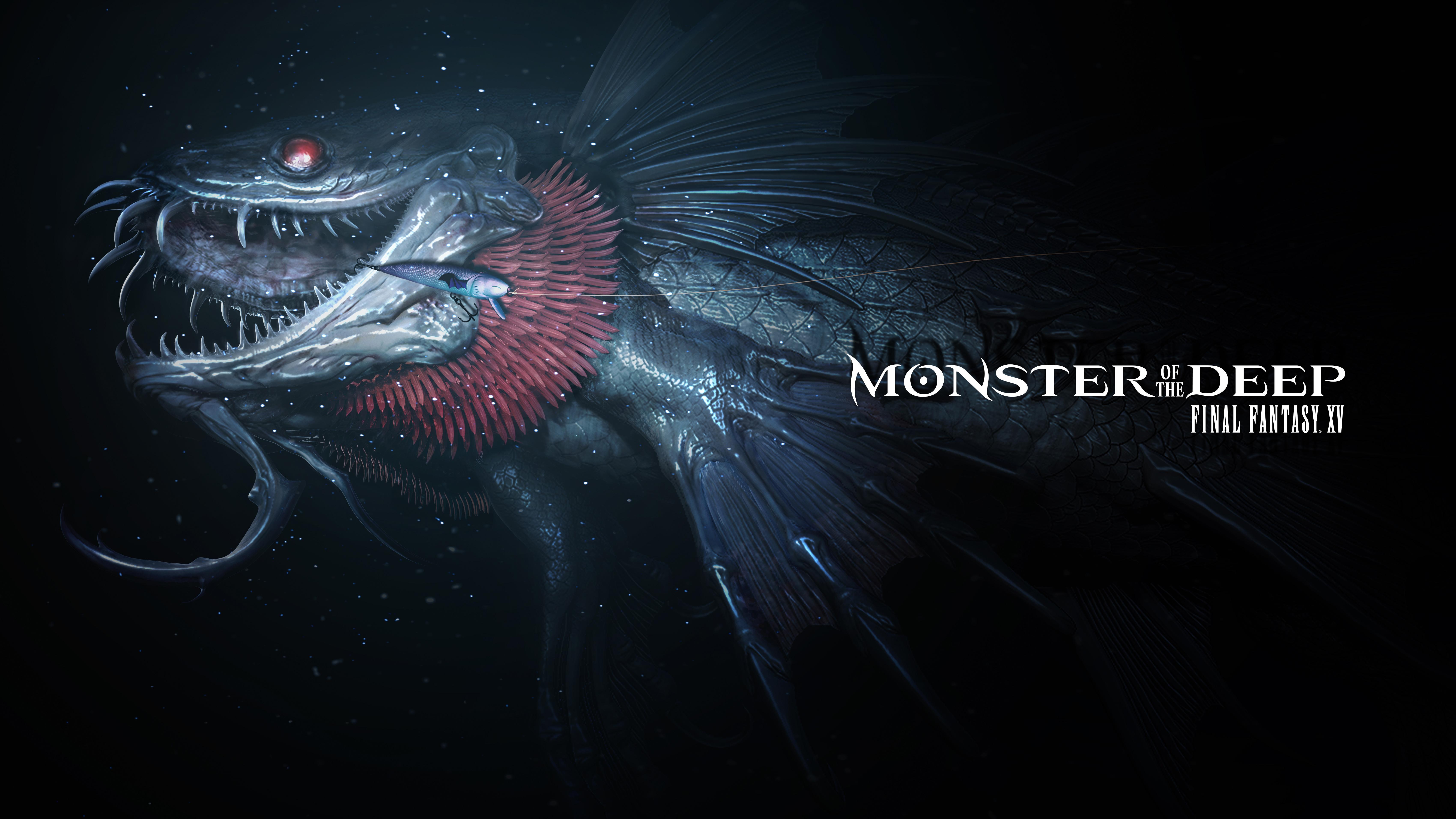 2560x1080 Luna Final Fantasy Xv 4k 2560x1080 Resolution Hd: Monster Of The Deep Final Fantasy XV E3 2017 Artwork, HD