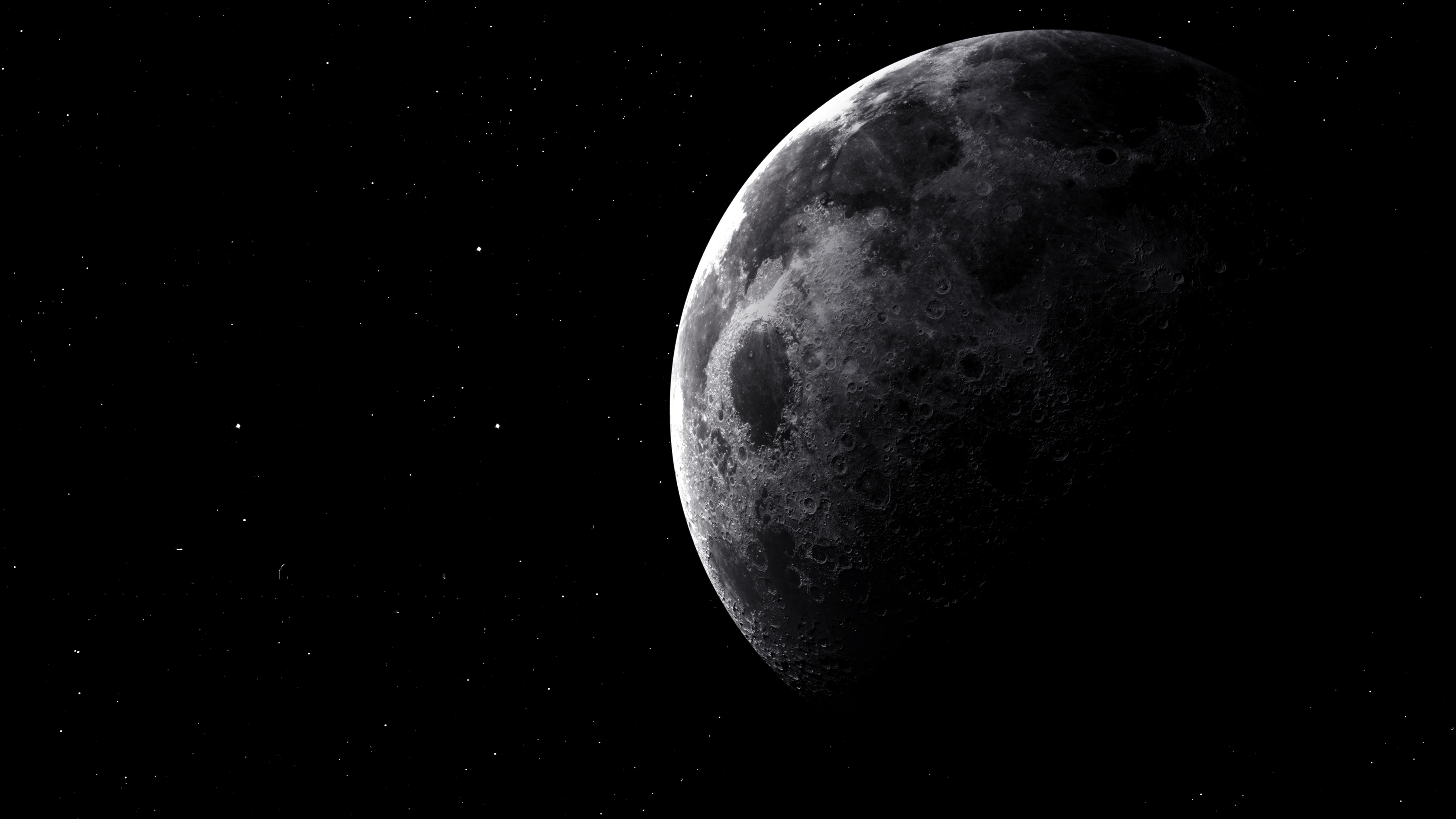Moon 5k hd world 4k wallpapers images backgrounds - Space moon wallpaper ...