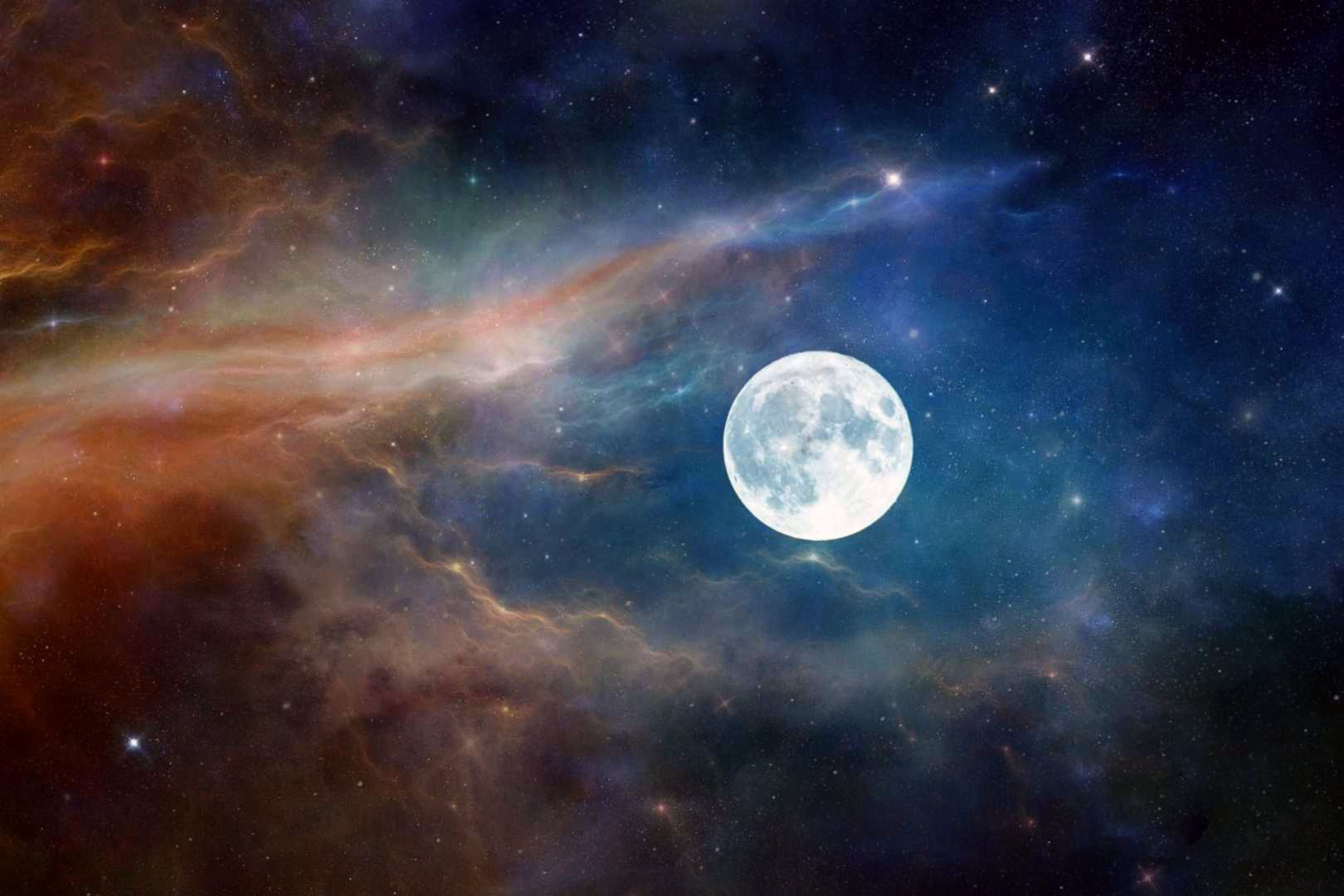 1366x768 moon astronaut nature clouds space 1366x768 - Space moon wallpaper ...
