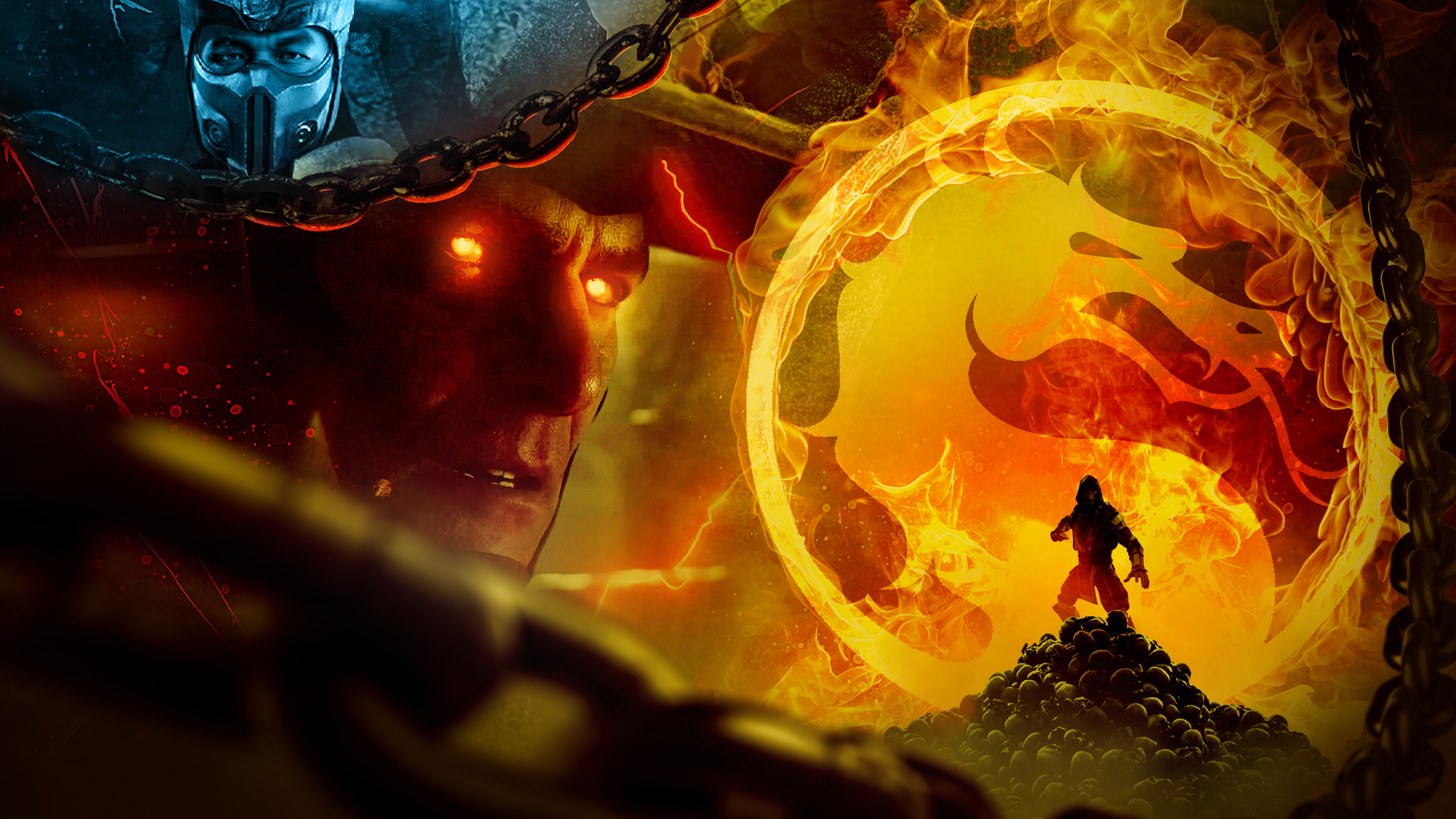 2880x1800 Mortal Kombat 11 Art 4k Macbook Pro Retina Hd 4k