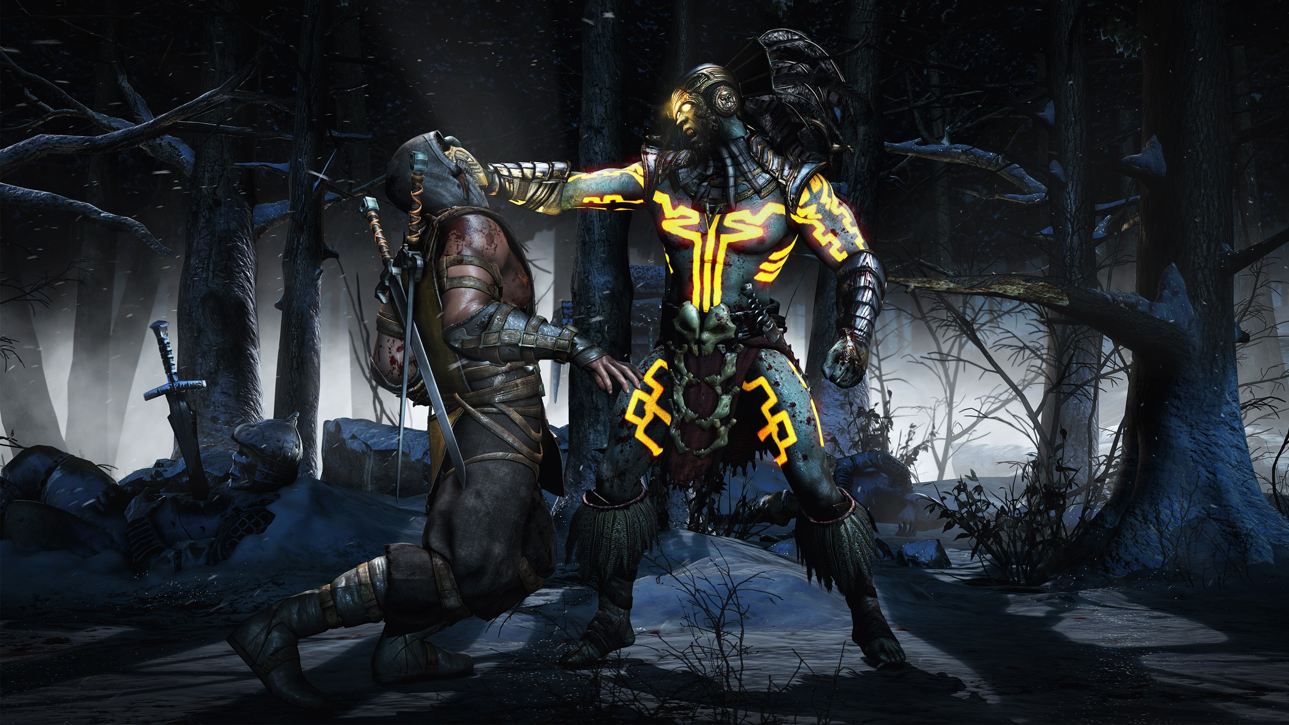 1600x1200 Mortal Kombat Kotal Scorpion 1600x1200 Resolution Hd 4k