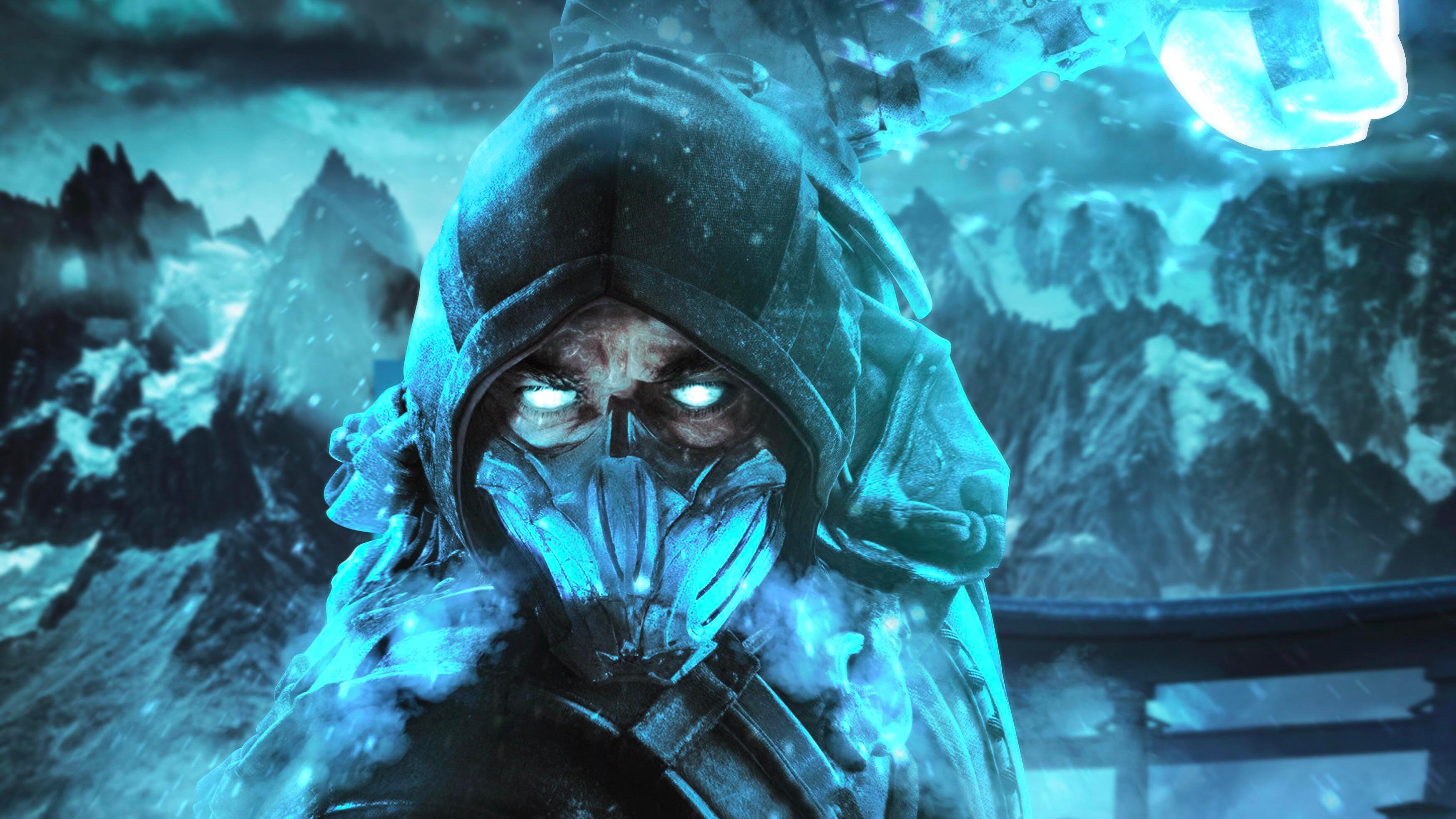 1366x768 mortal kombat sub zero fan art 1366x768 - Mortal kombat 11 wallpaper ...