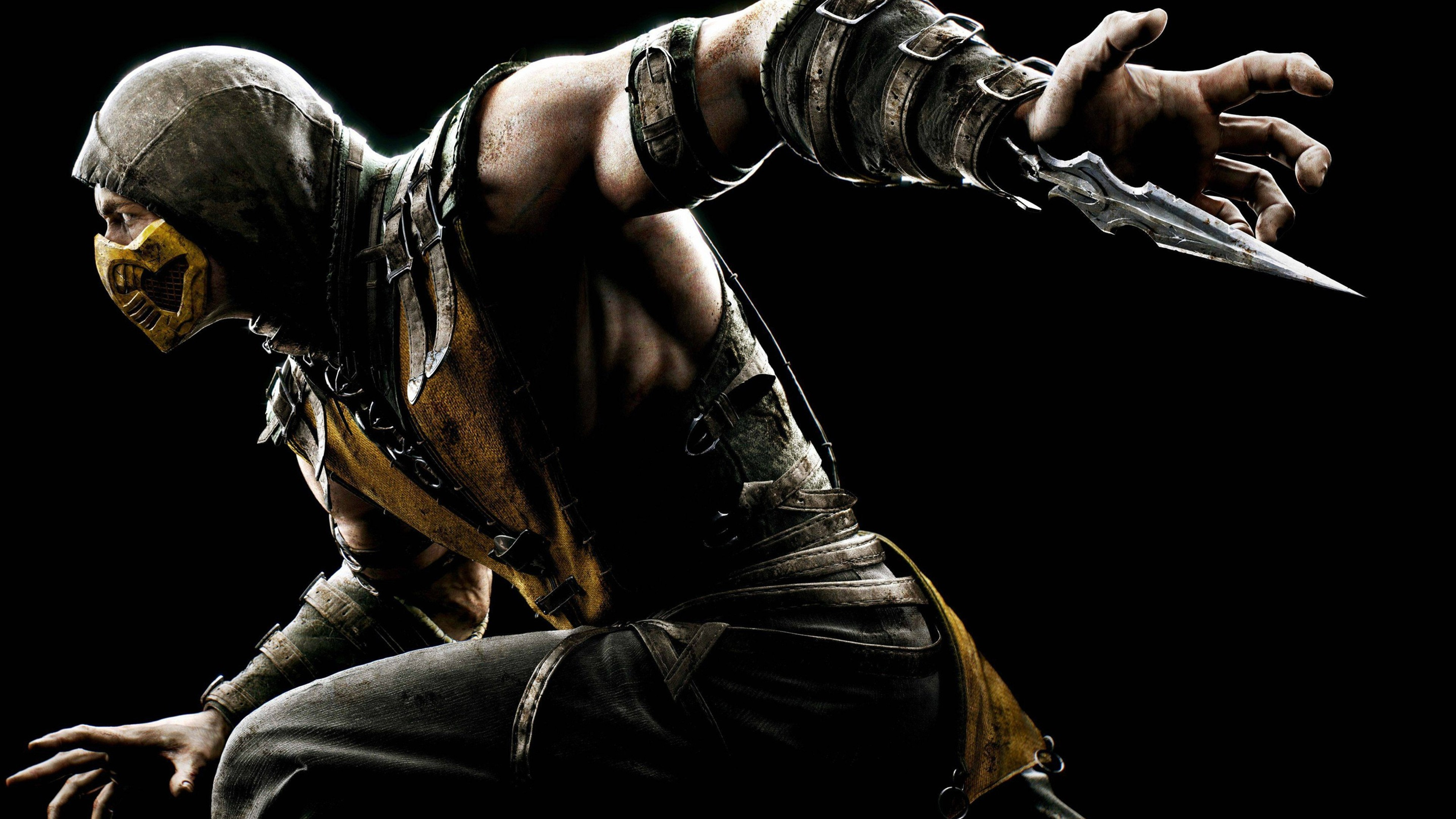 Mortal kombat x scorpion hd games 4k wallpapers images - Mortal kombat scorpion wallpaper ...
