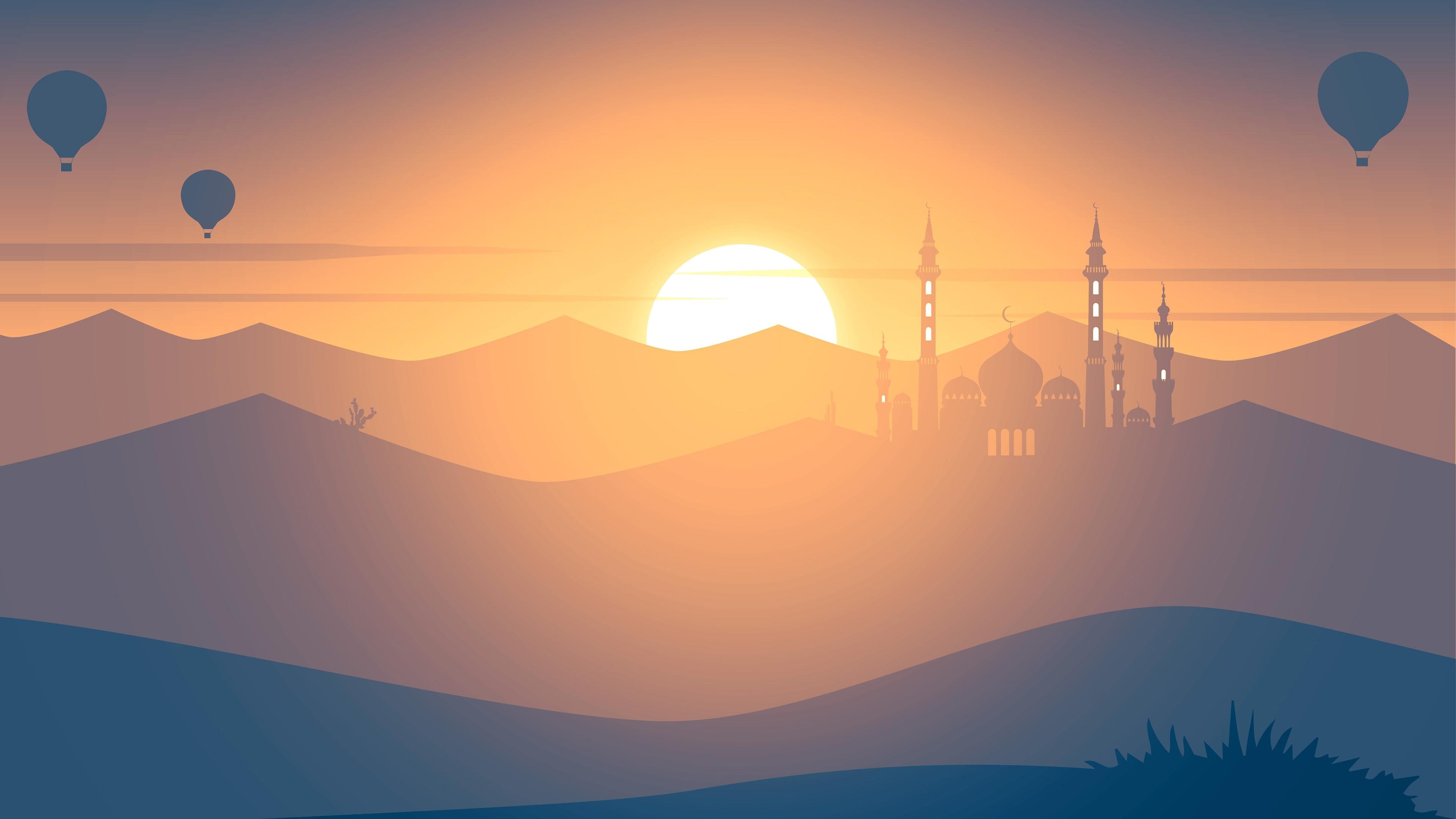 Mosque Minimalism 4k, HD Artist, 4k Wallpapers, Images ...