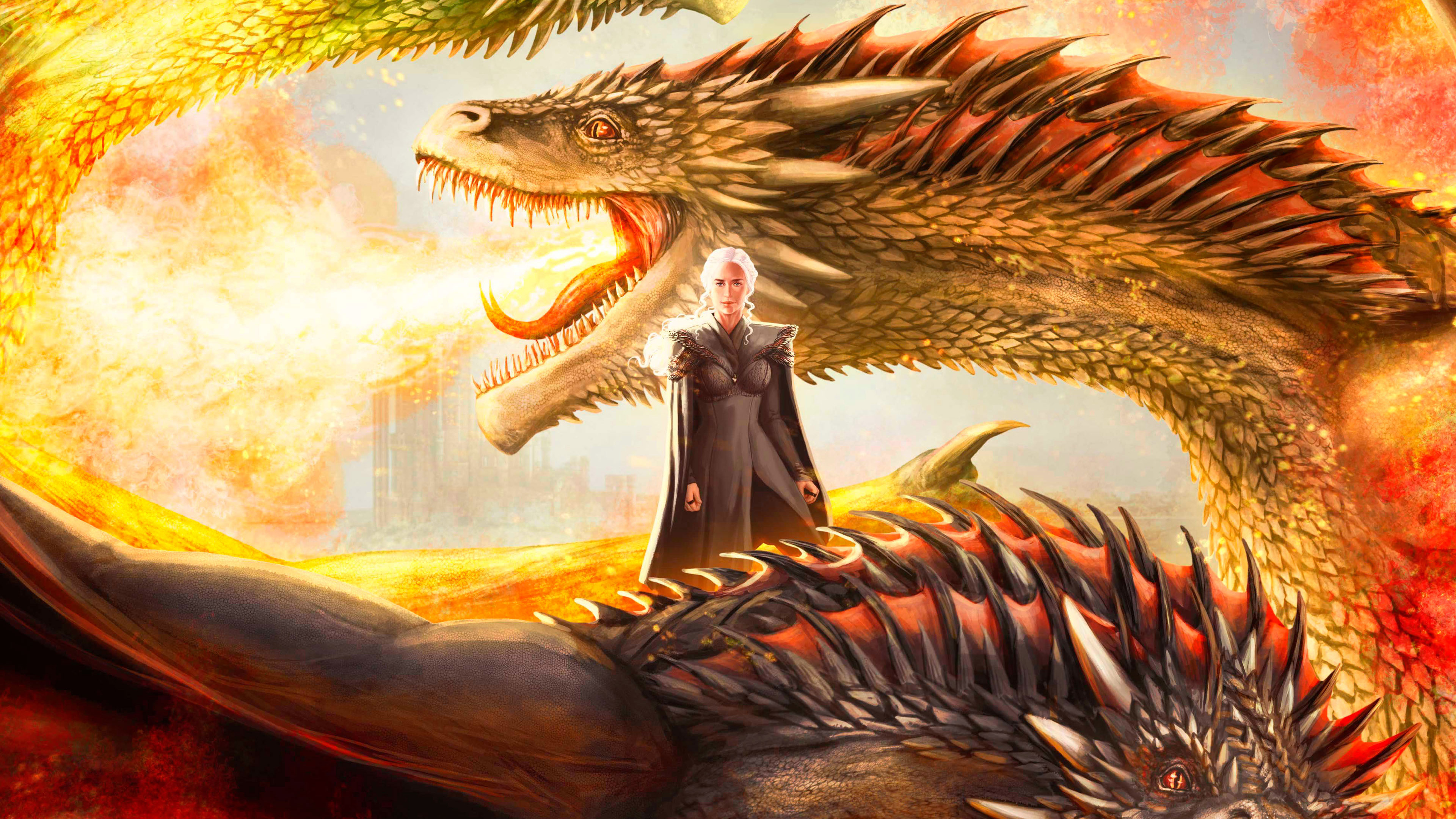 Mother Of Dragons Artwork, HD Tv Shows, 4k Wallpapers ...