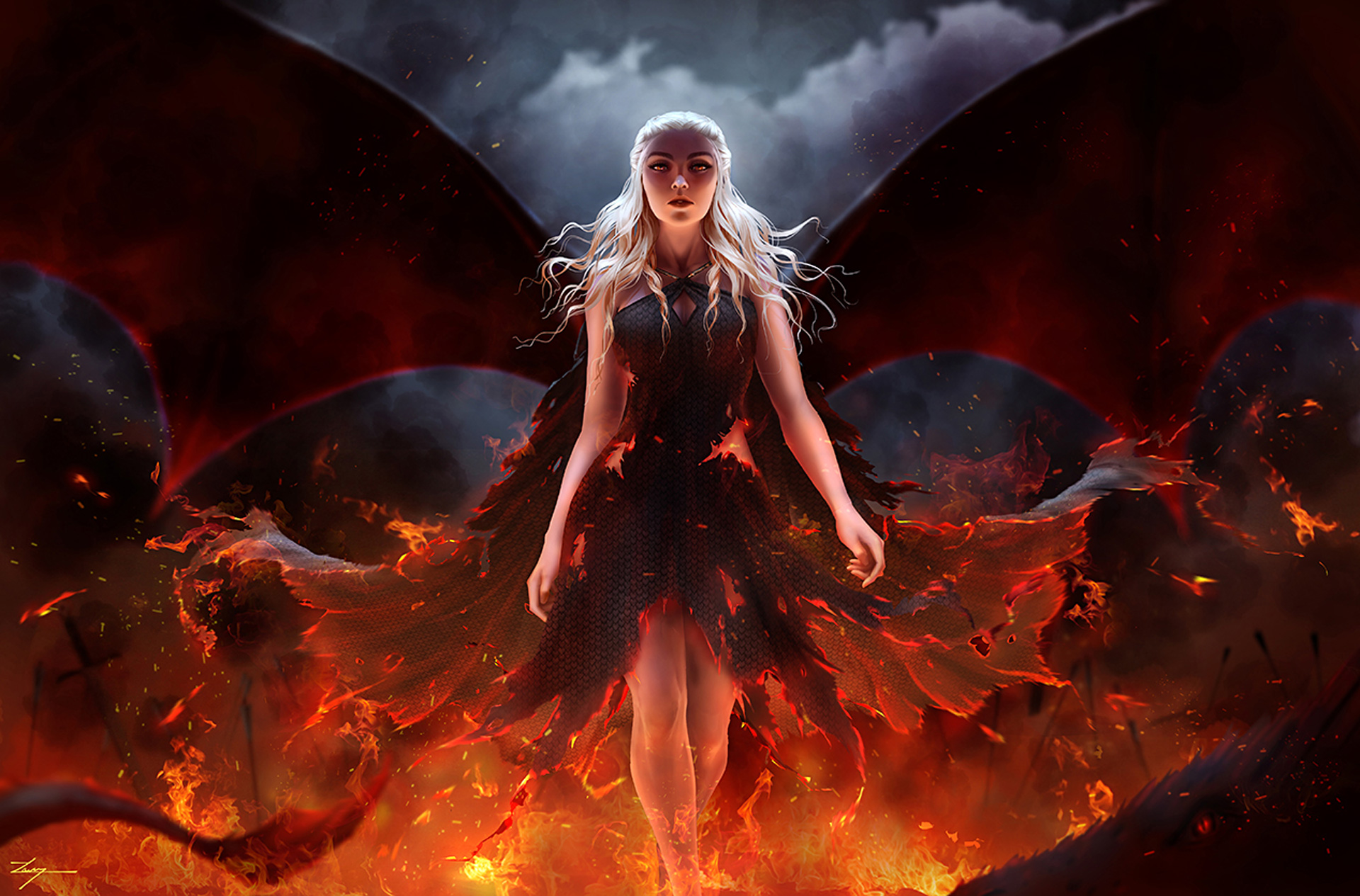 Mother Of Dragons Hd Tv Shows 4k Wallpapers Images