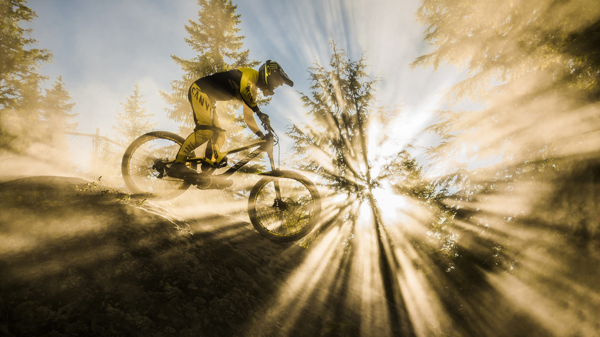 Mountain Bike Sunbeam Hd Others 4k Wallpapers Images