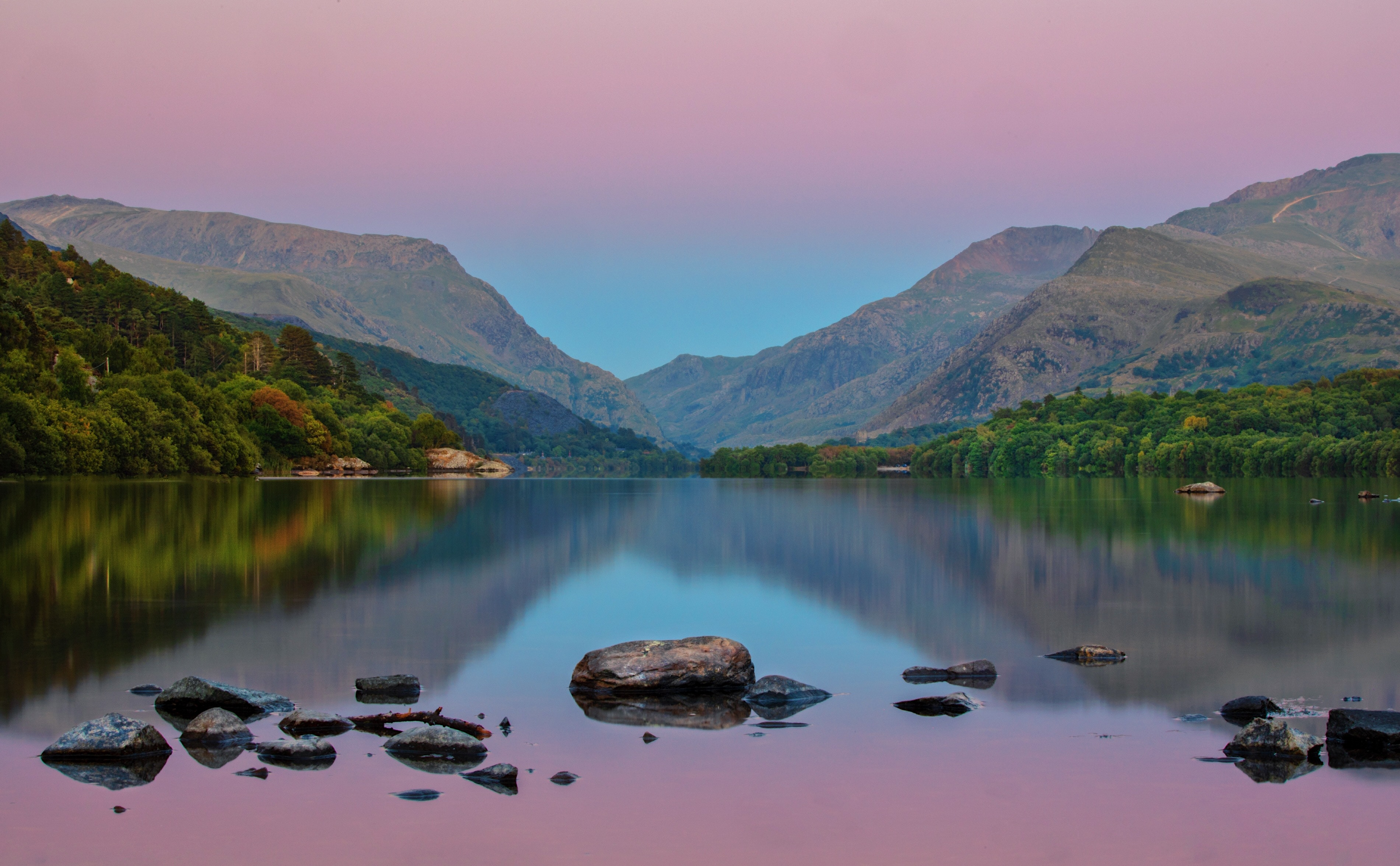 Lake Mountain Reflection Minimalism Wallpapers Hd: Mountain Lake Water Still Reflection 4k, HD Nature, 4k