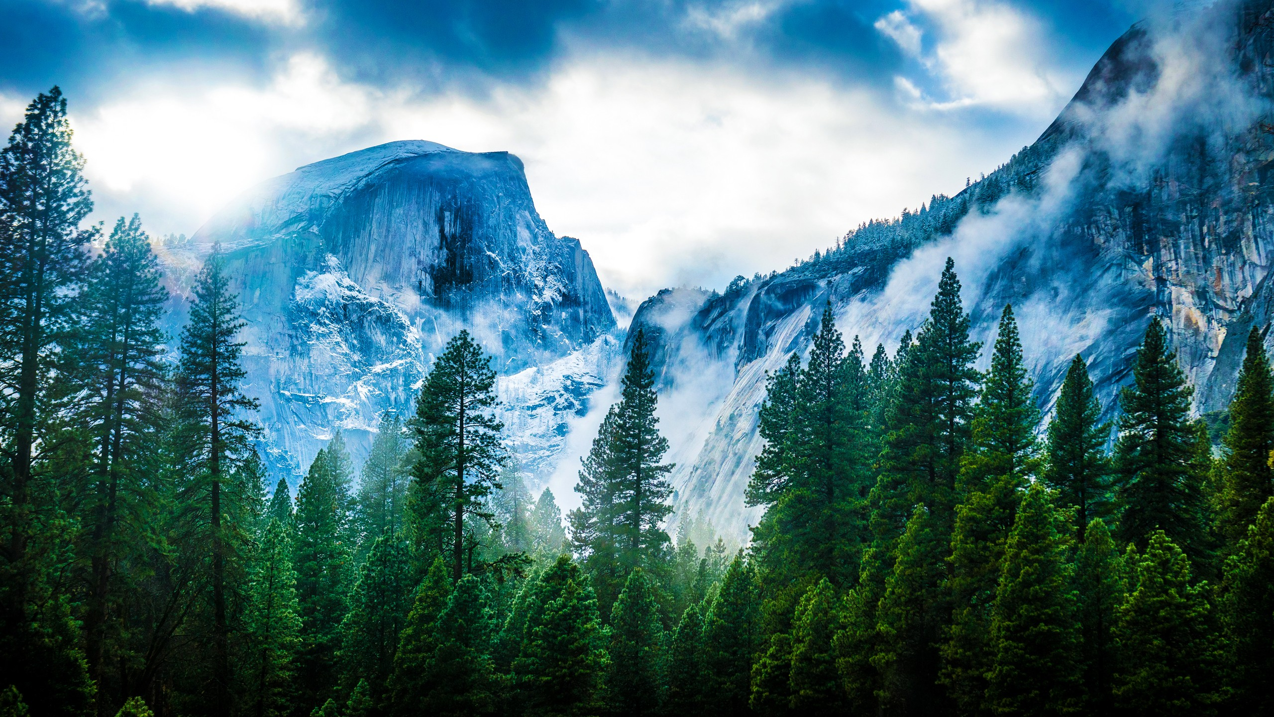 Mountains fog hd nature 4k wallpapers images backgrounds mountains fog voltagebd Gallery