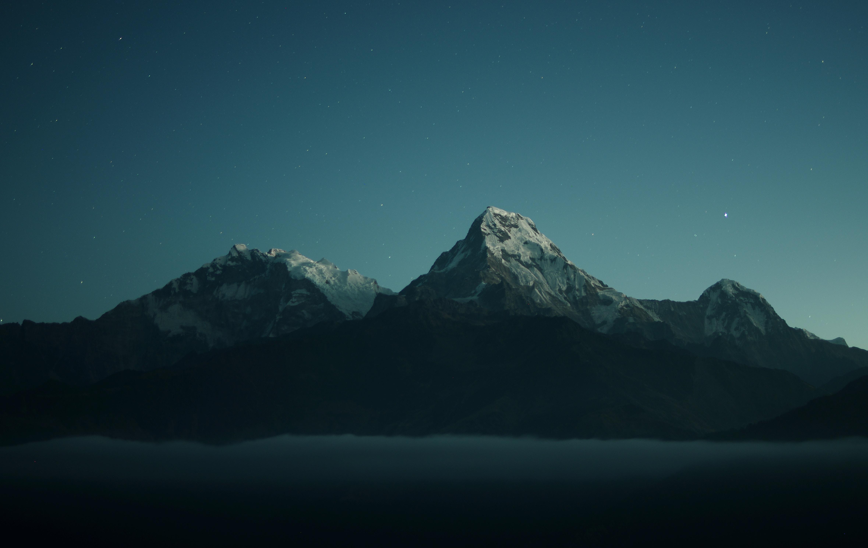 Mountains Landscape Dark Nature 4k, HD Nature, 4k ...