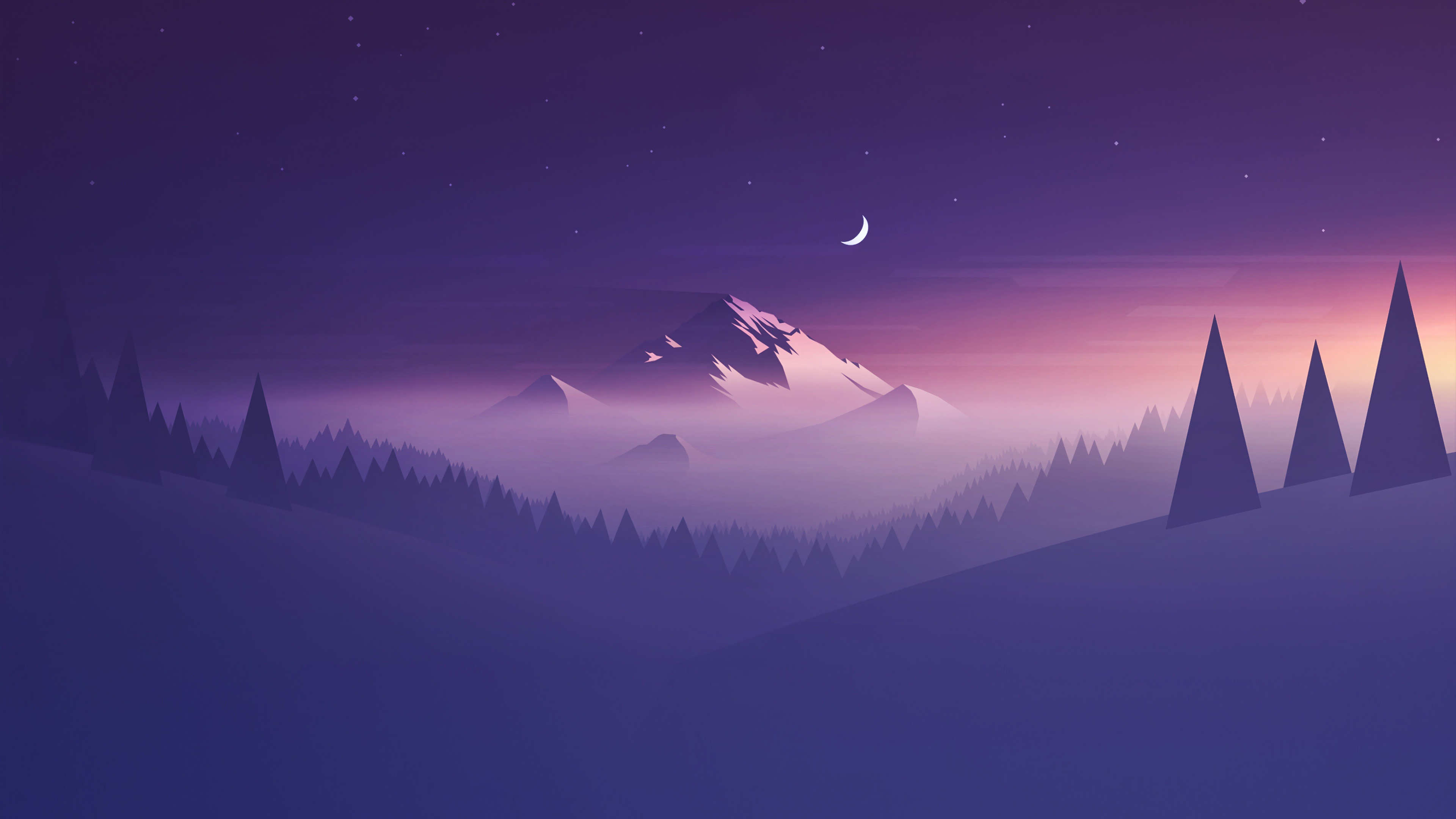Mountains Minimalists 4k, HD Artist, 4k Wallpapers, Images ...