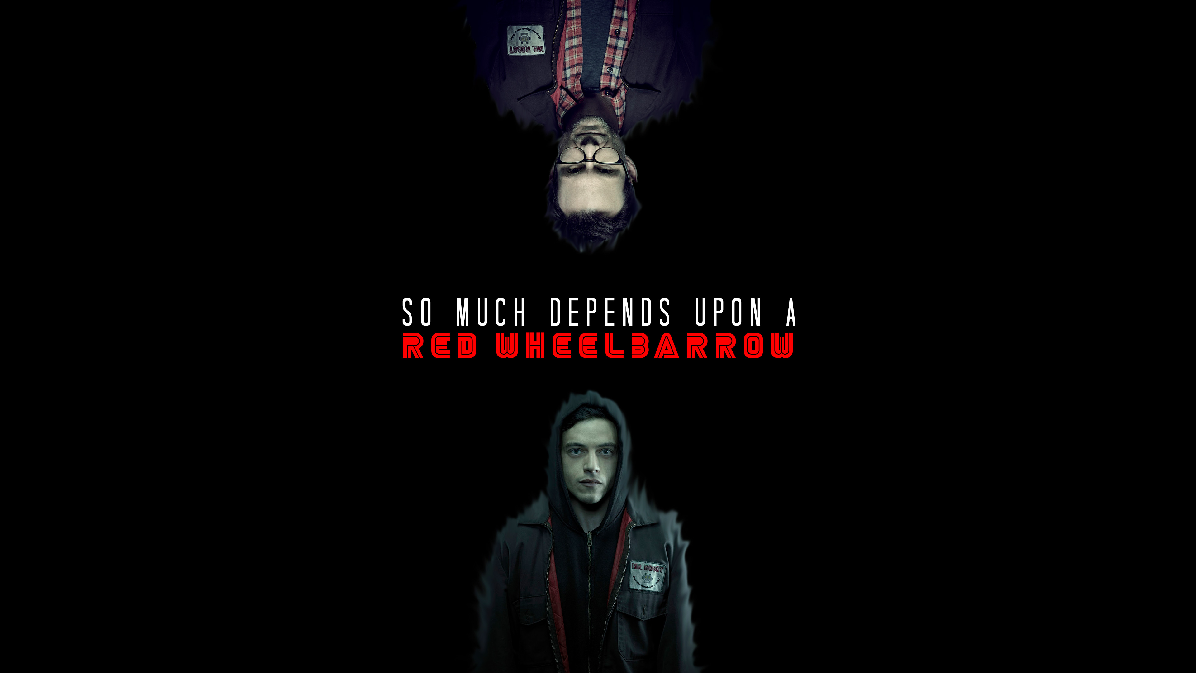Mr robot tv series fanart hd tv shows 4k wallpapers - Tv series wallpaper 4k ...
