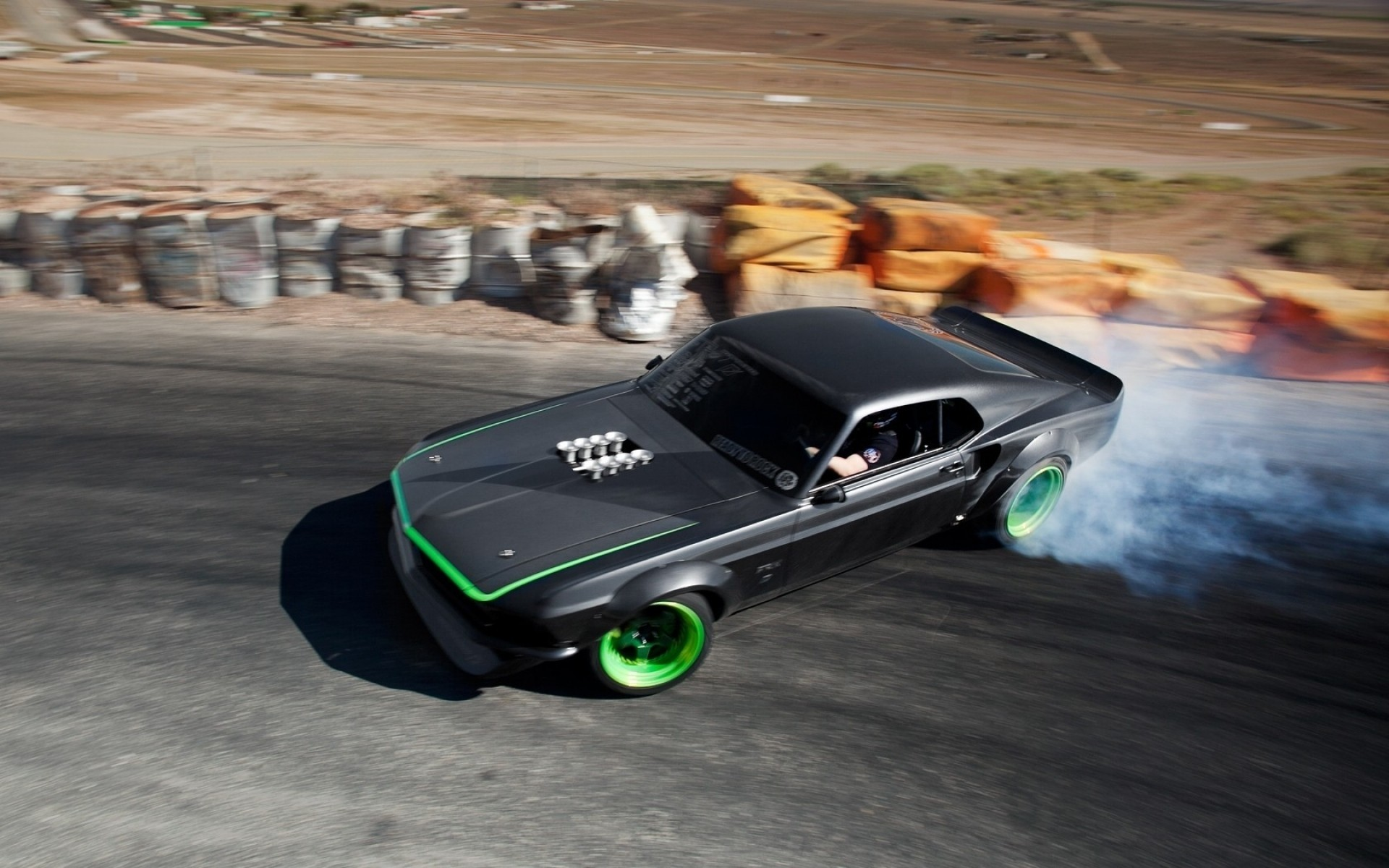 muscle car drifting, hd cars, 4k wallpapers, images, backgrounds