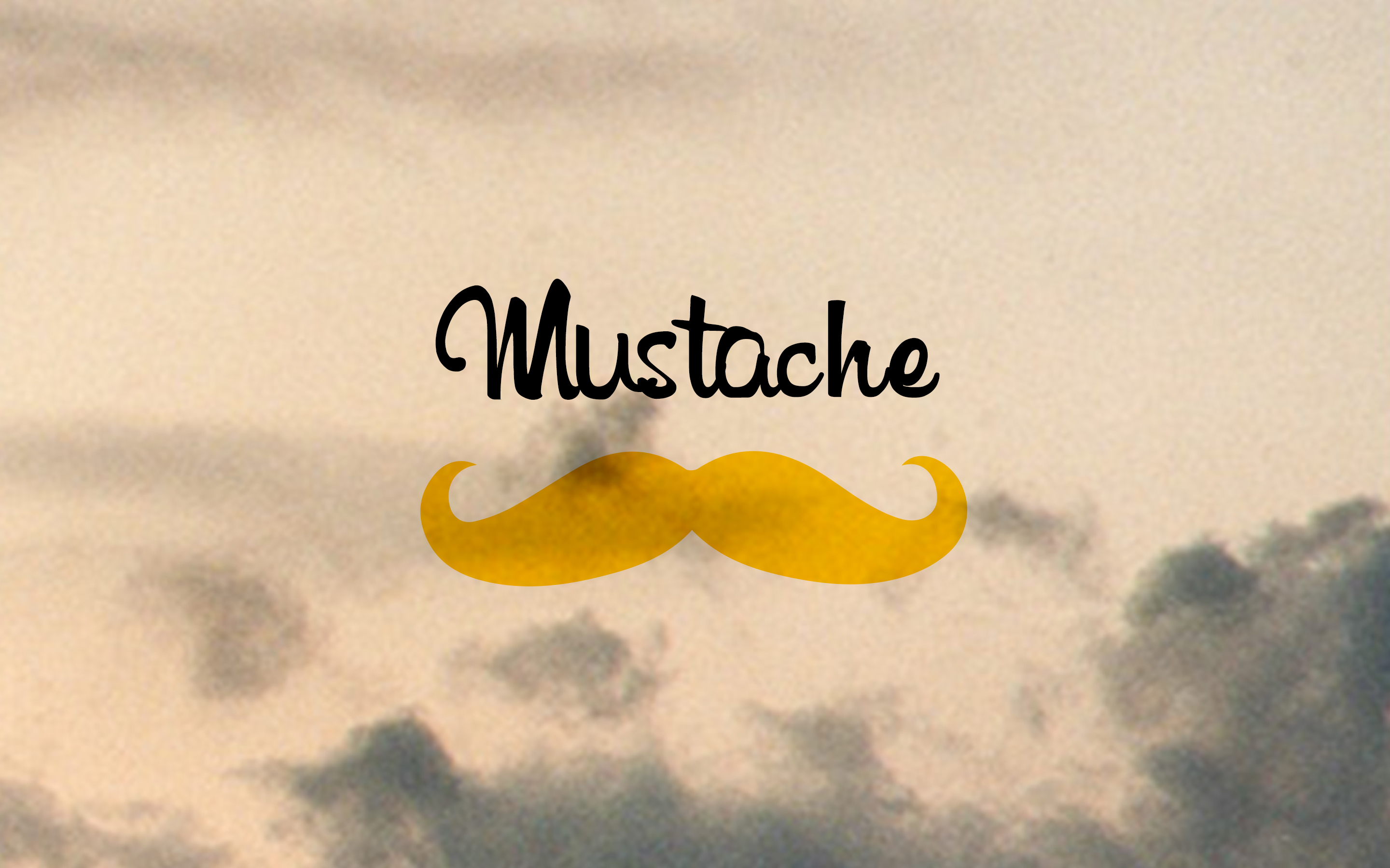 Mustache Is Good 2048x1152 Resolution