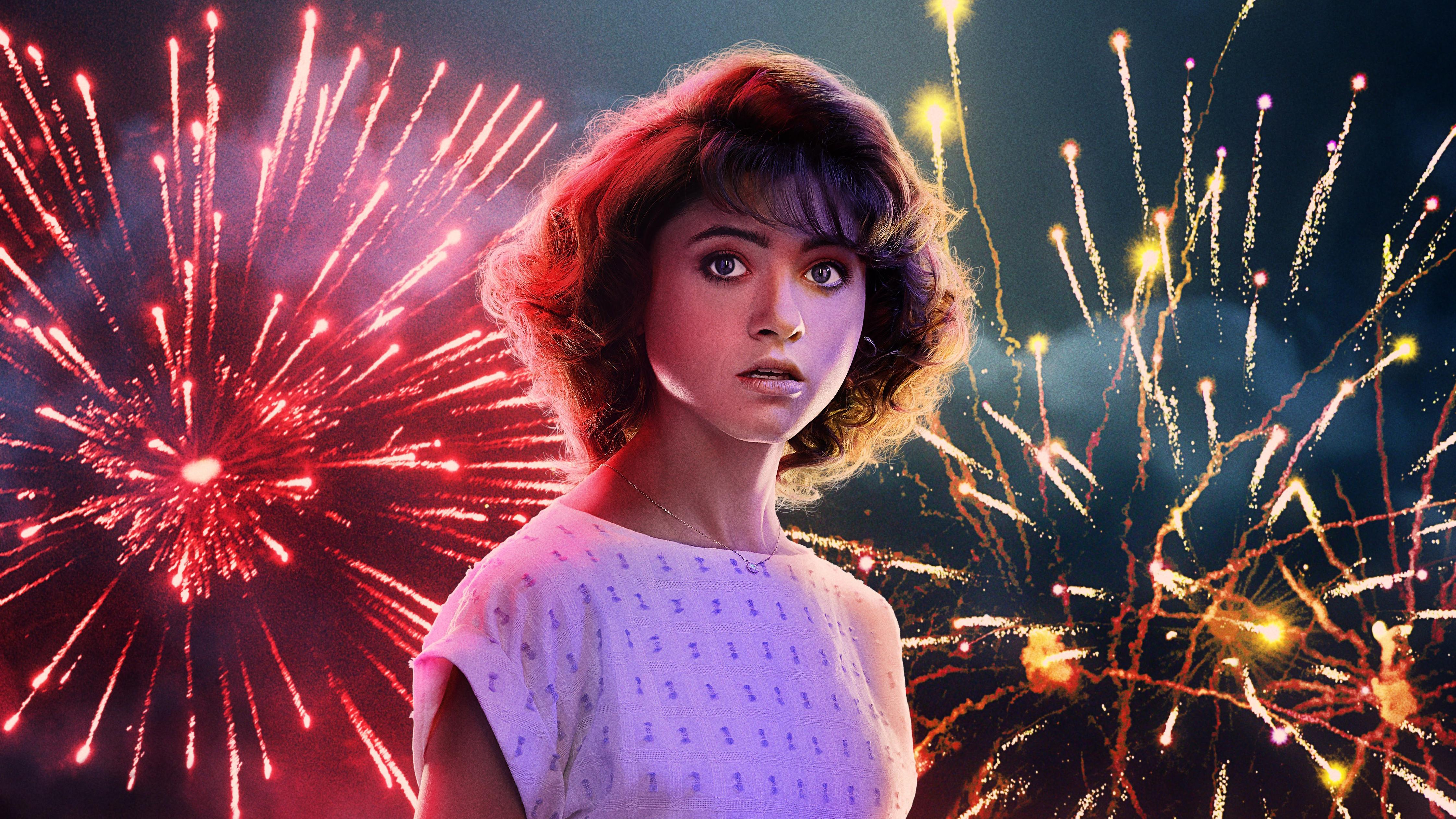 Nancy In Stranger Things Season 3 2019 5k Hd Tv Shows 4k