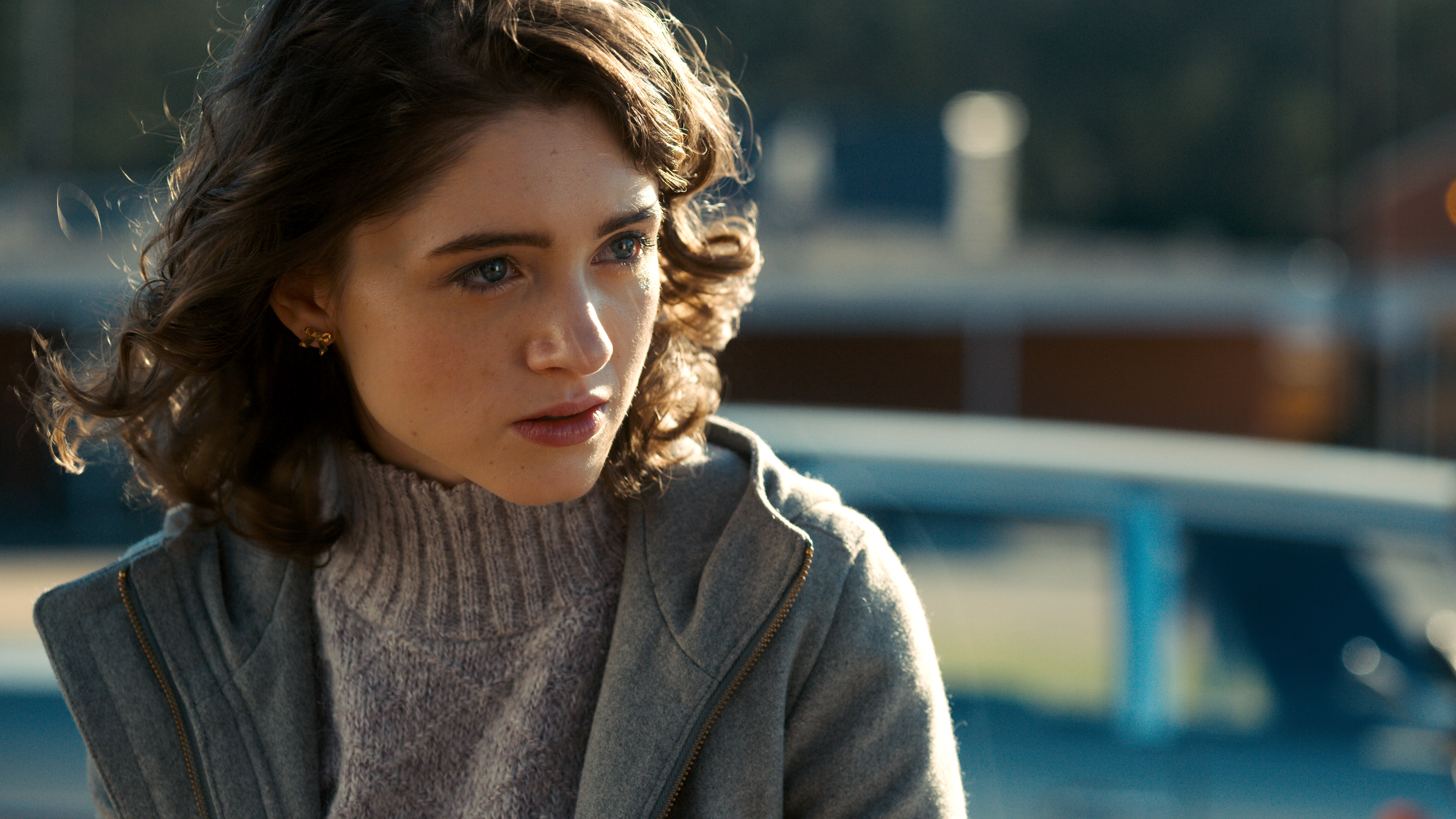 Natalia Dyer As Nancy Stranger Things Season 2 8k Hd Tv