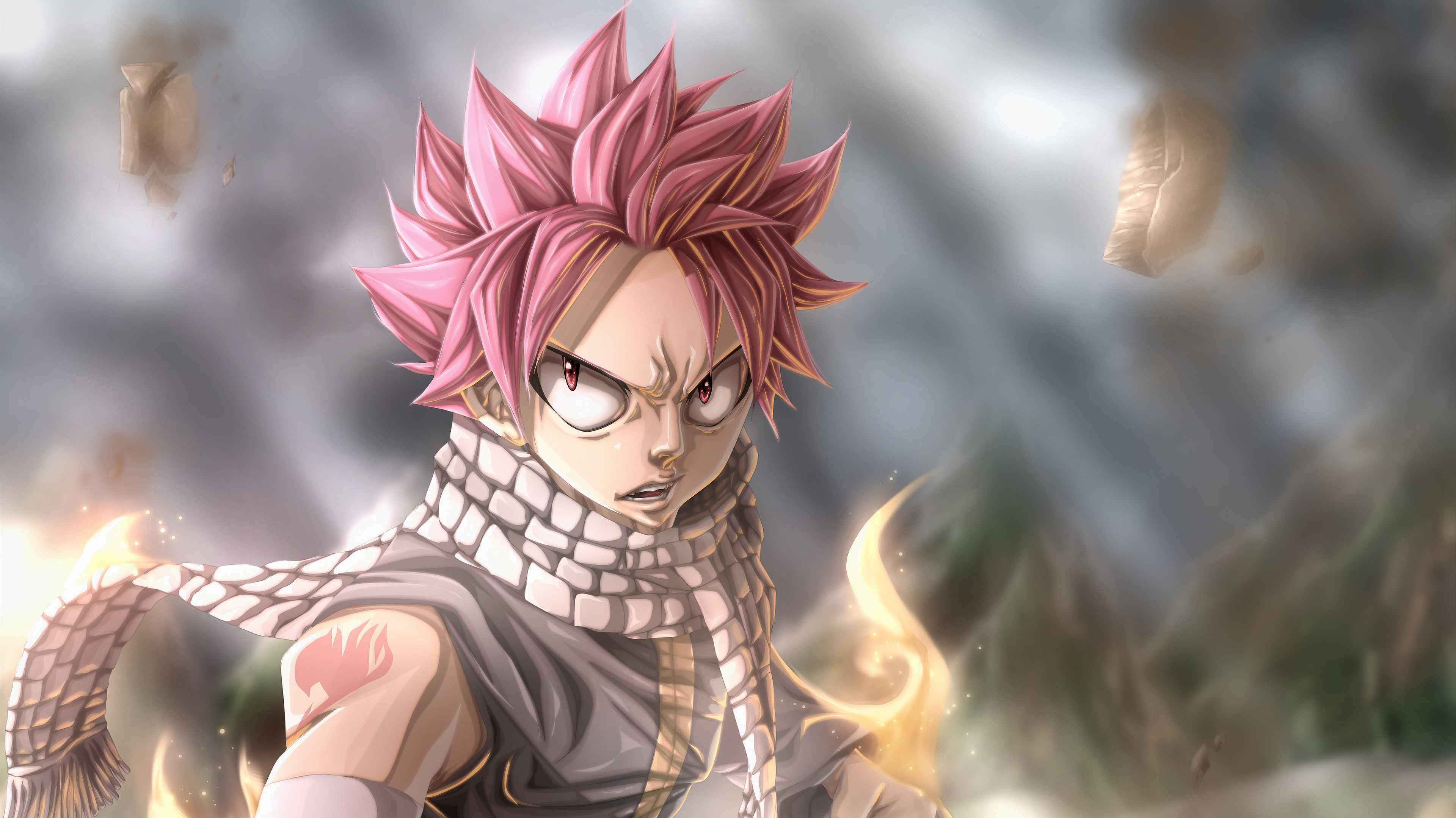 Natsu Fairy Tail Anime 4k Hd Anime 4k Wallpapers Images