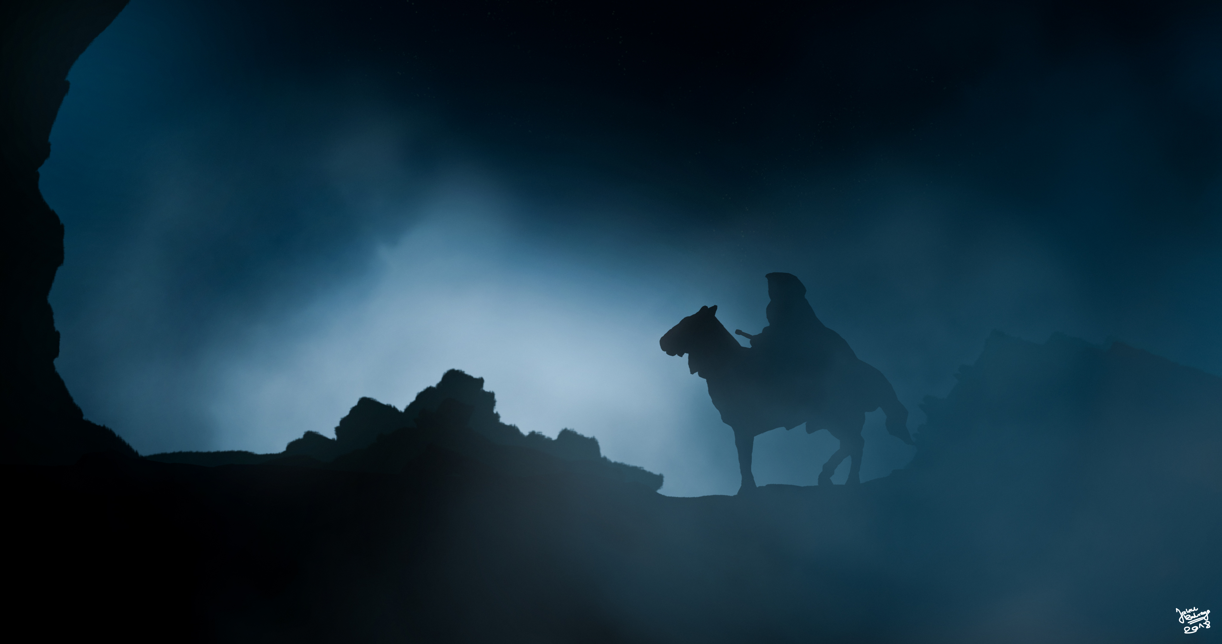 Nazgul The Lord Of The Rings Art 4k