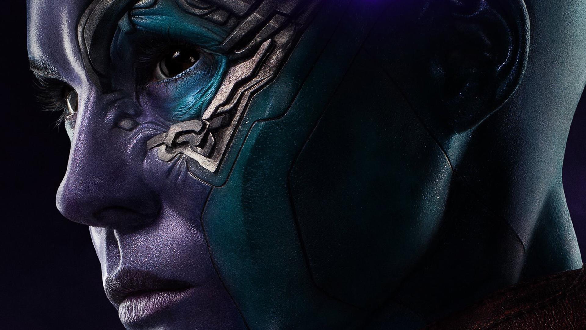 Movie Poster 2019: 1920x1080 Nebula Avengers Endgame 2019 Poster Laptop Full