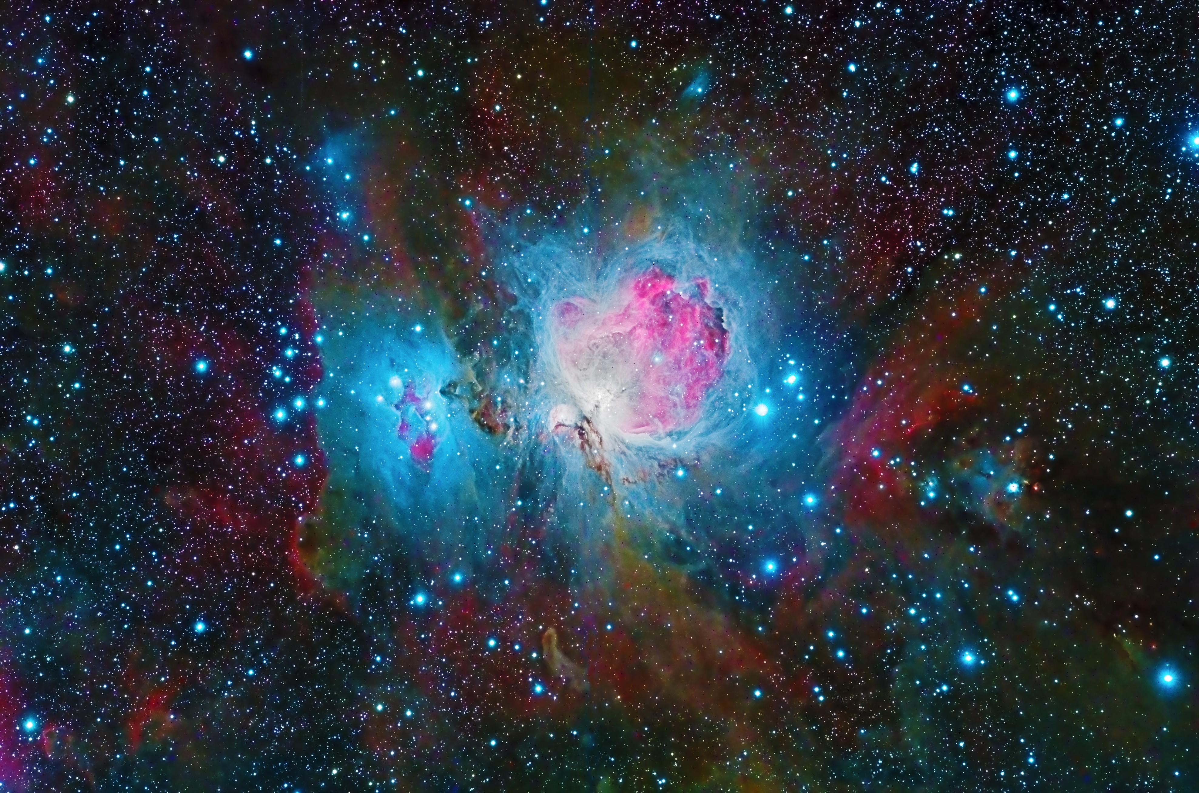 3840x2160 nebula space galaxy colorful 4k 4k hd 4k
