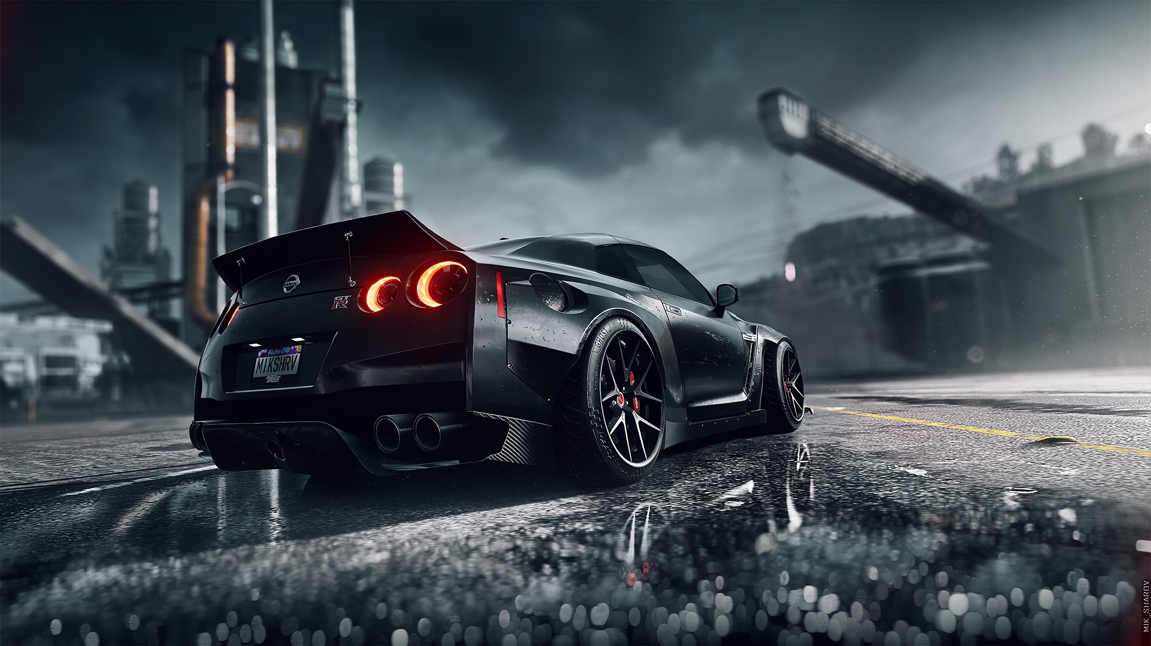 Need For Speed Heat Nissan Gtr 4k Hd Games 4k Wallpapers