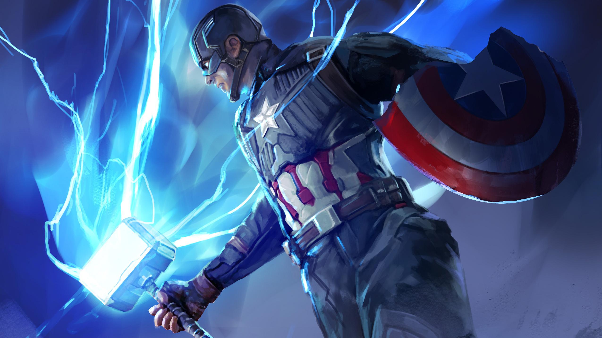 New Captain America Avengers Endgame, HD Superheroes, 4k ...