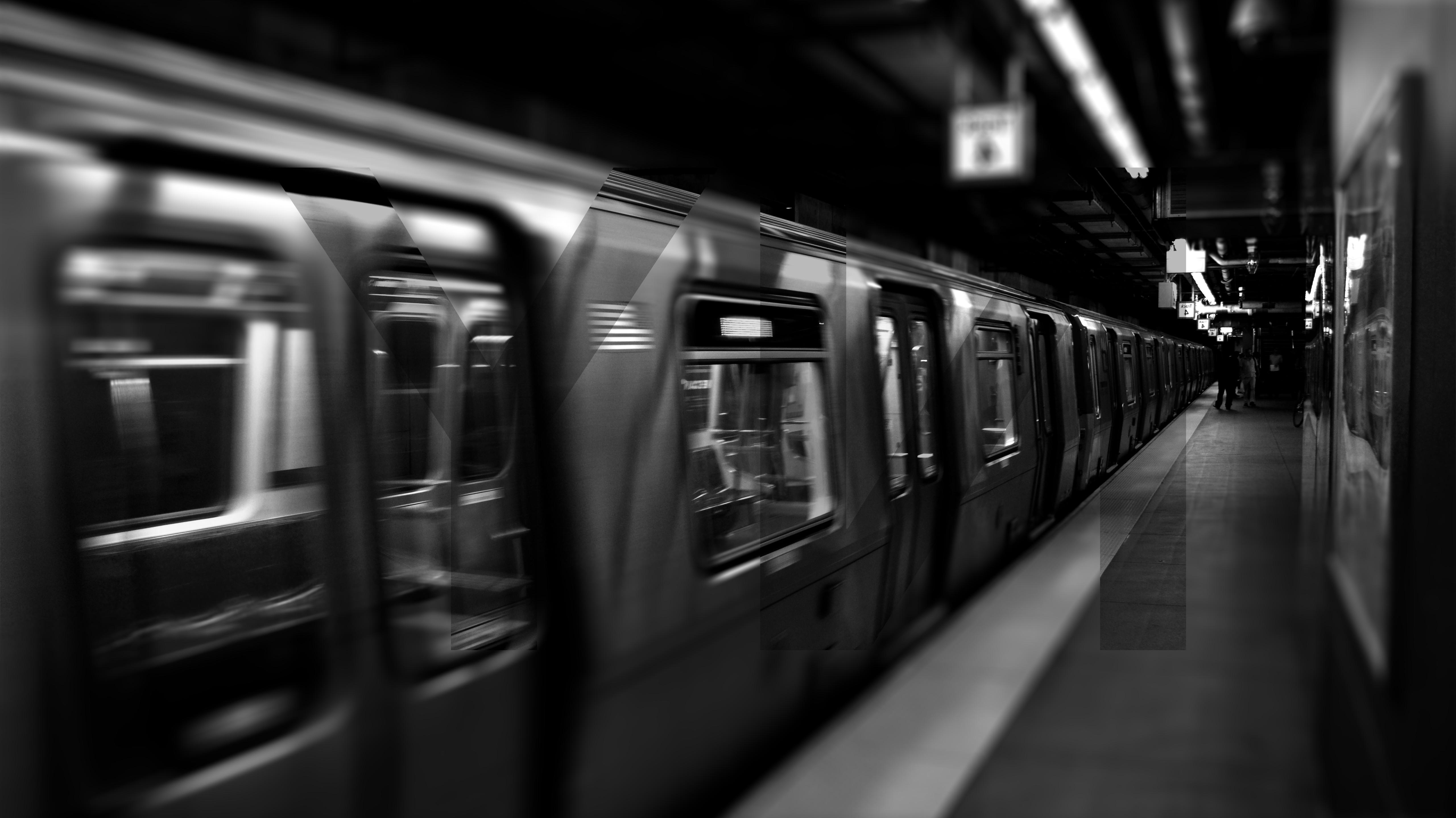 New York City Underground Subway Train