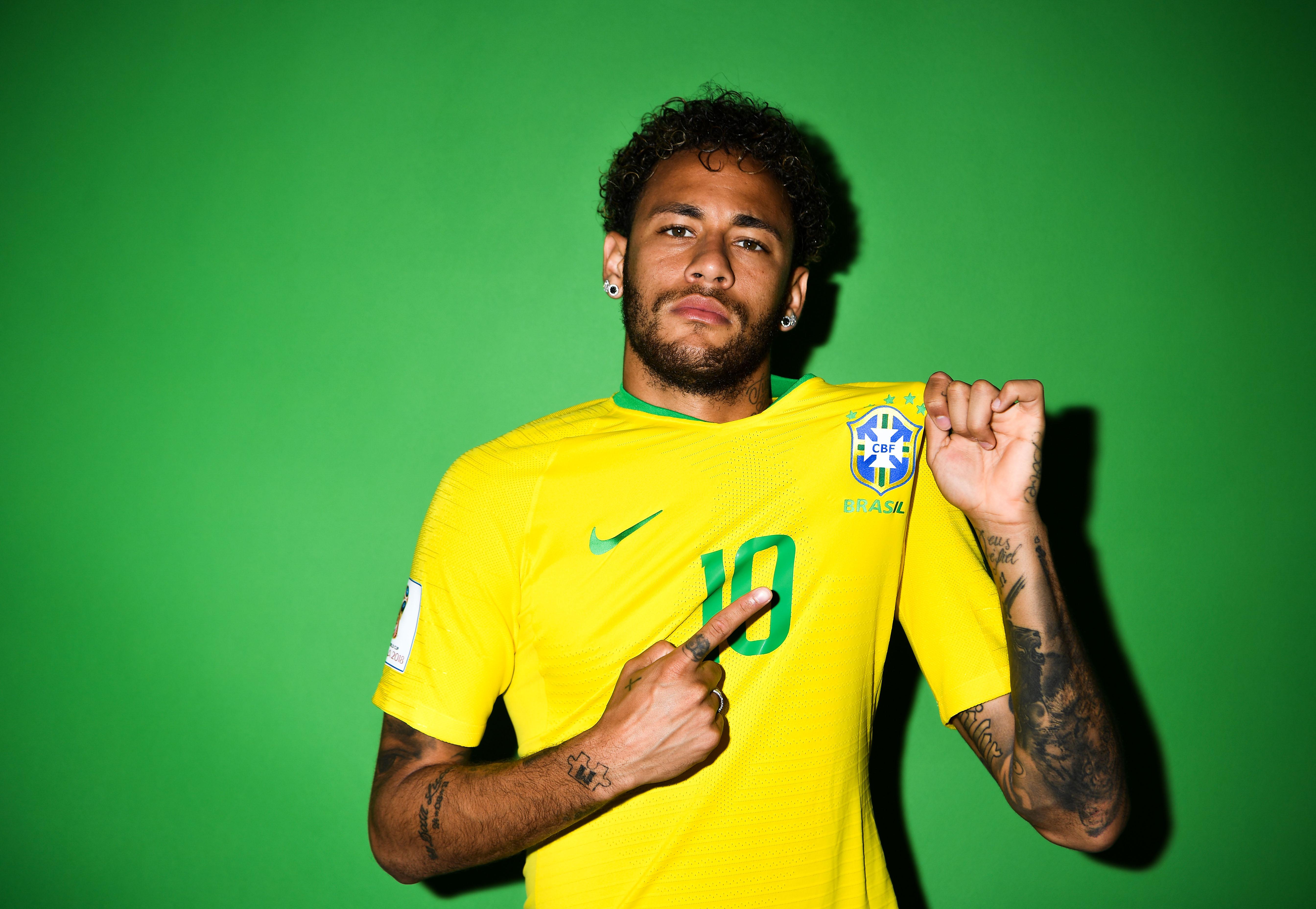 Neymar jr brazil portraits hd sports 4k wallpapers - Neymar brazil hd ...