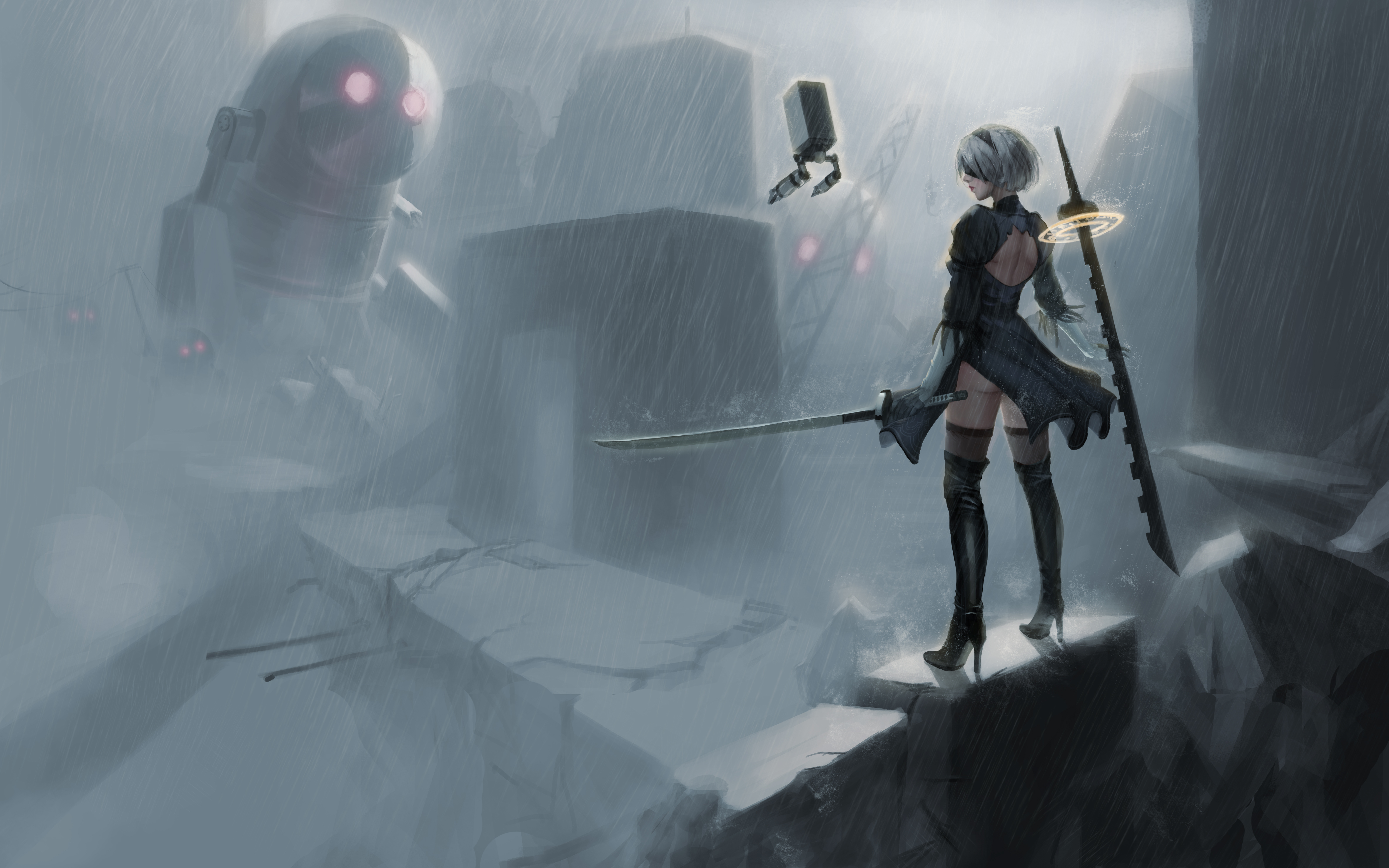 Nier Automata 5k, HD Anime, 4k Wallpapers, Images ...