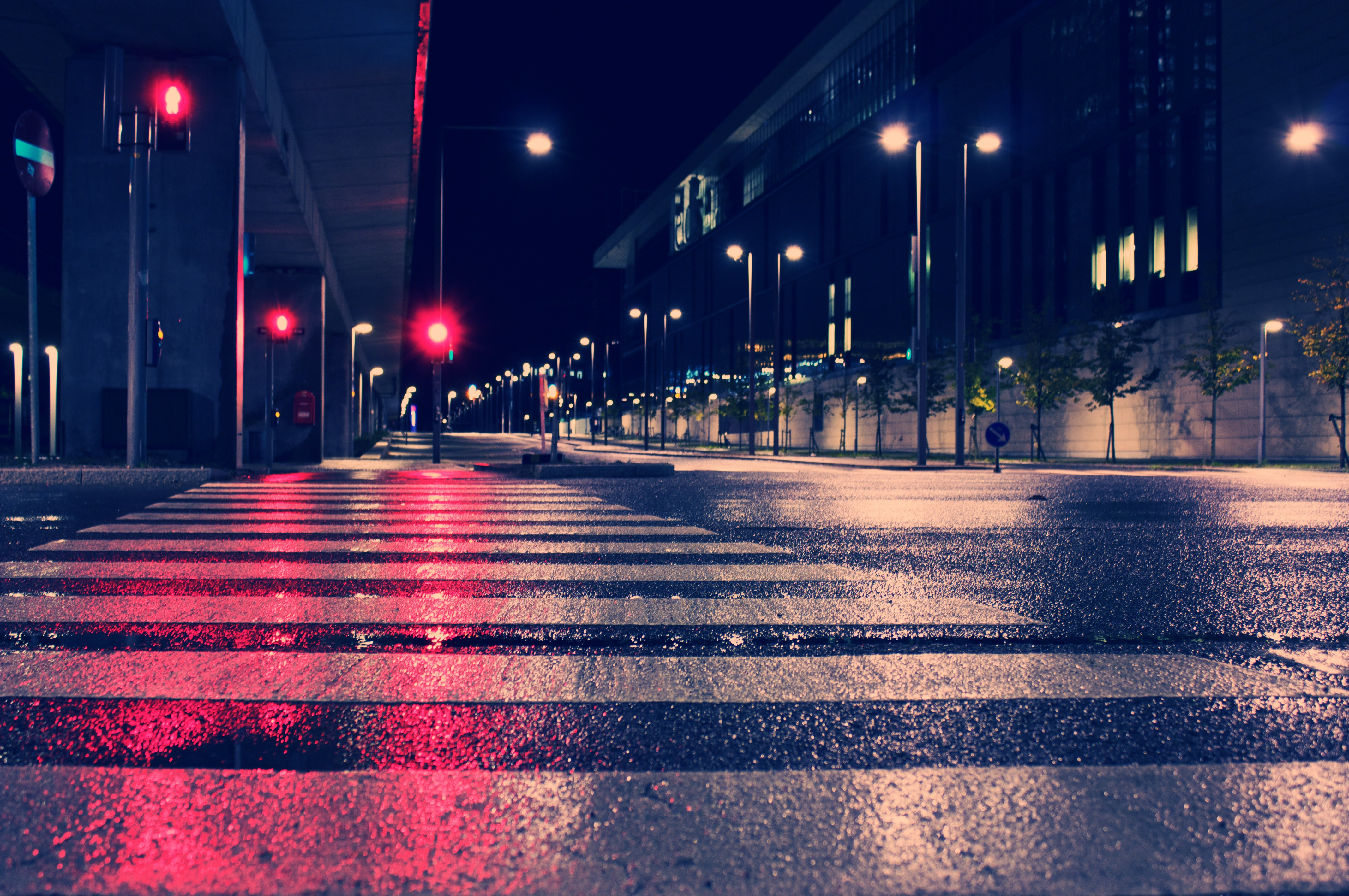 Night city lights street 4k hd photography 4k wallpapers images backgrounds photos and pictures - Light night wallpaper ...