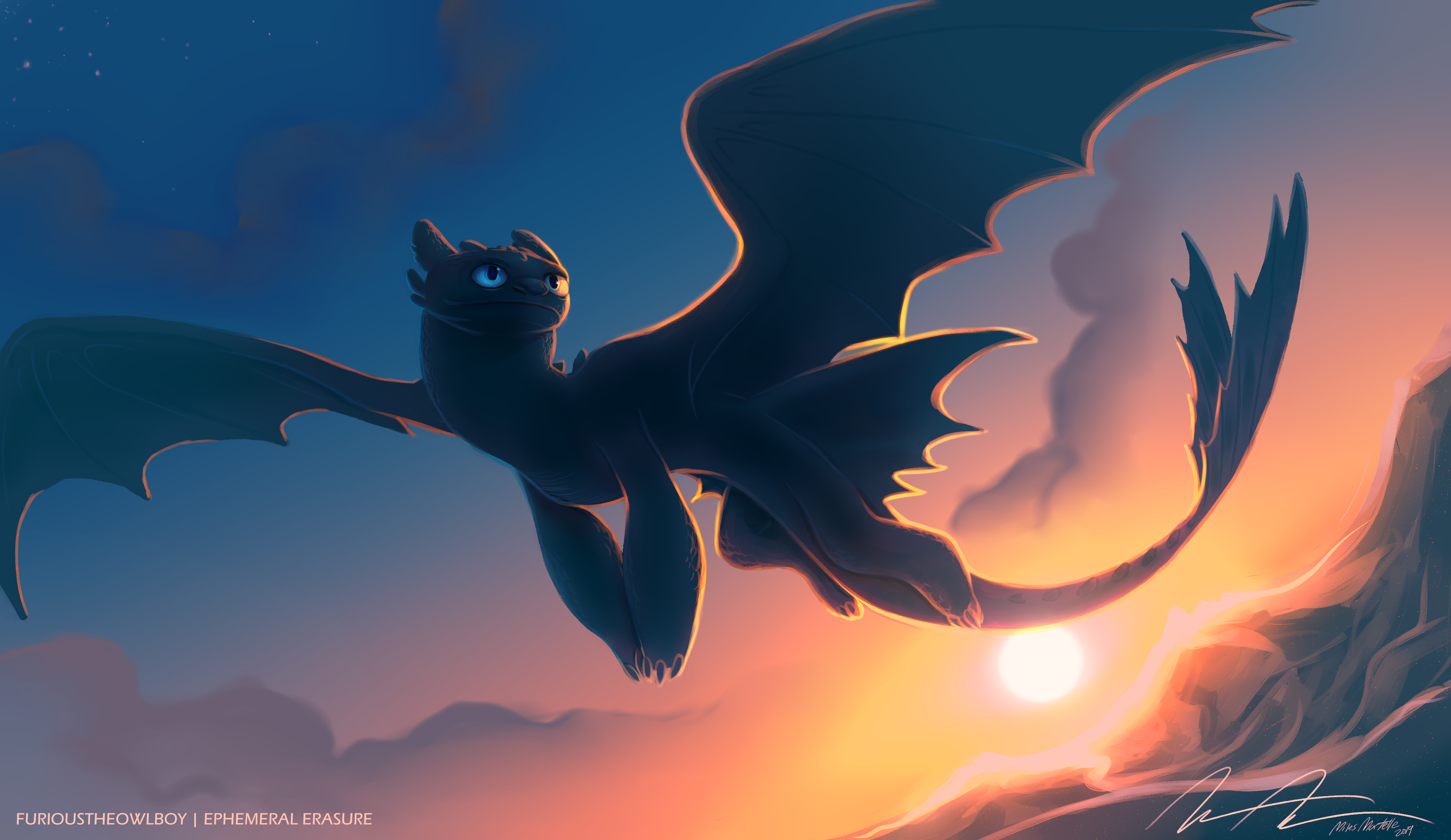 Night fury toothless 4k hd movies 4k wallpapers images - Toothless wallpaper ...