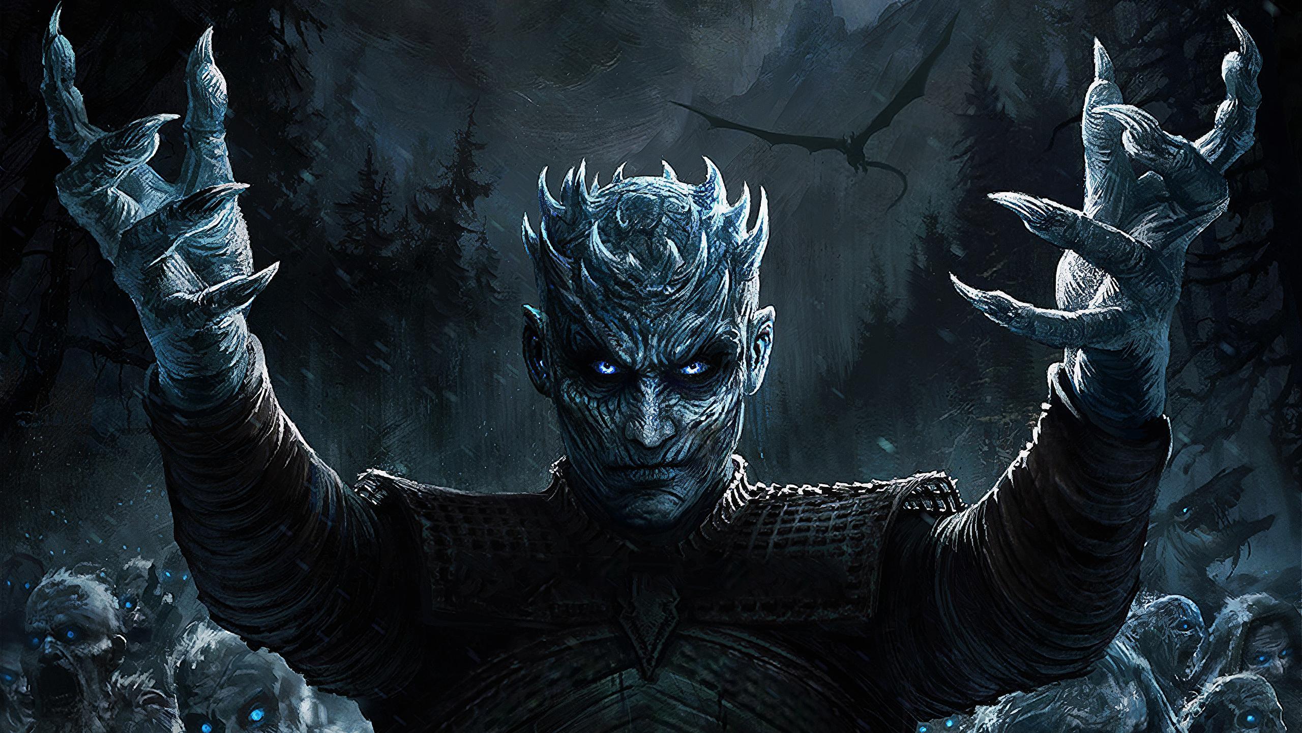 Night King Game Of Thrones Season 8 Art, HD Tv Shows, 4k ...