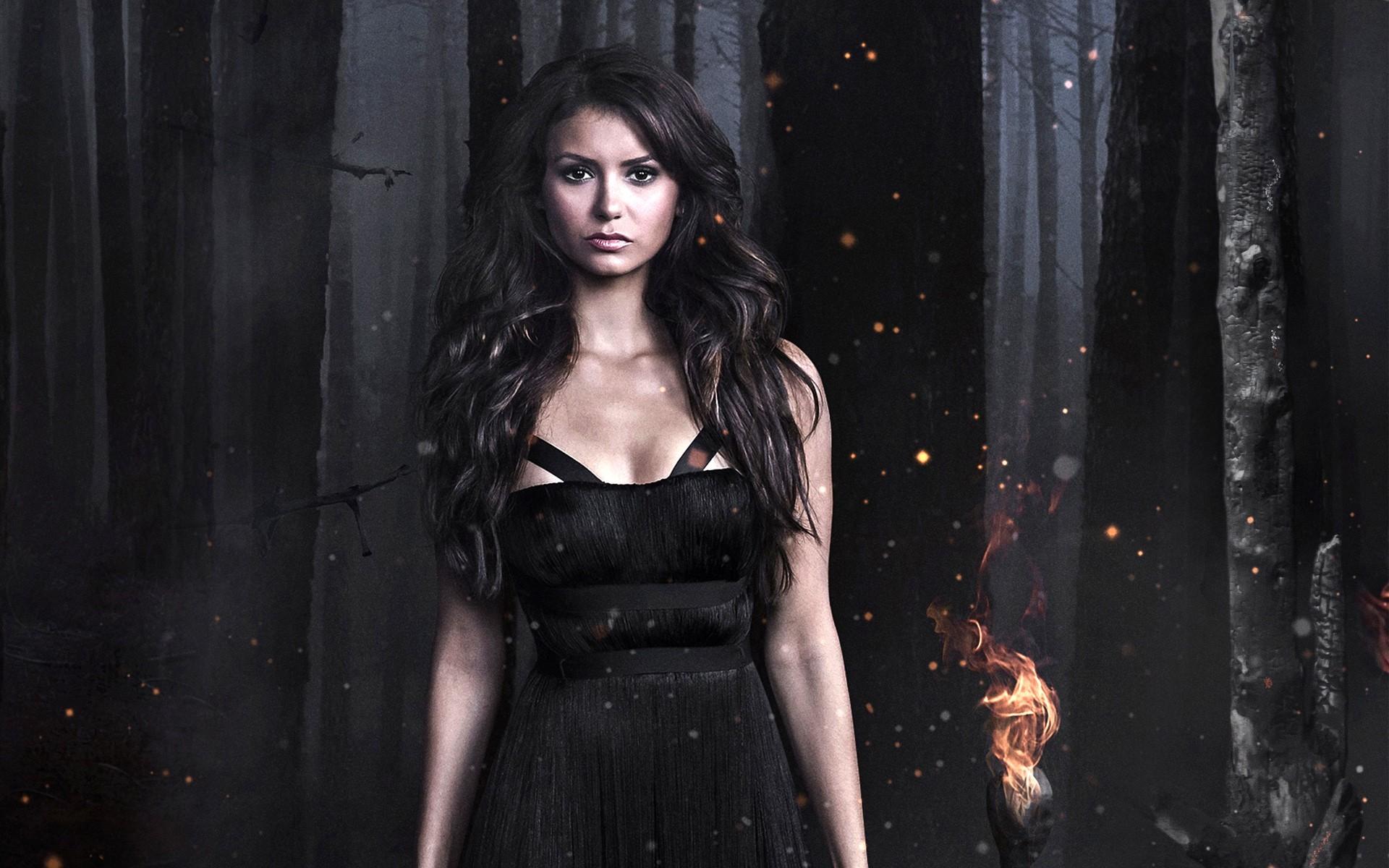 Nina Dobrev In Vampire Diaries 1280x1024 Resolution